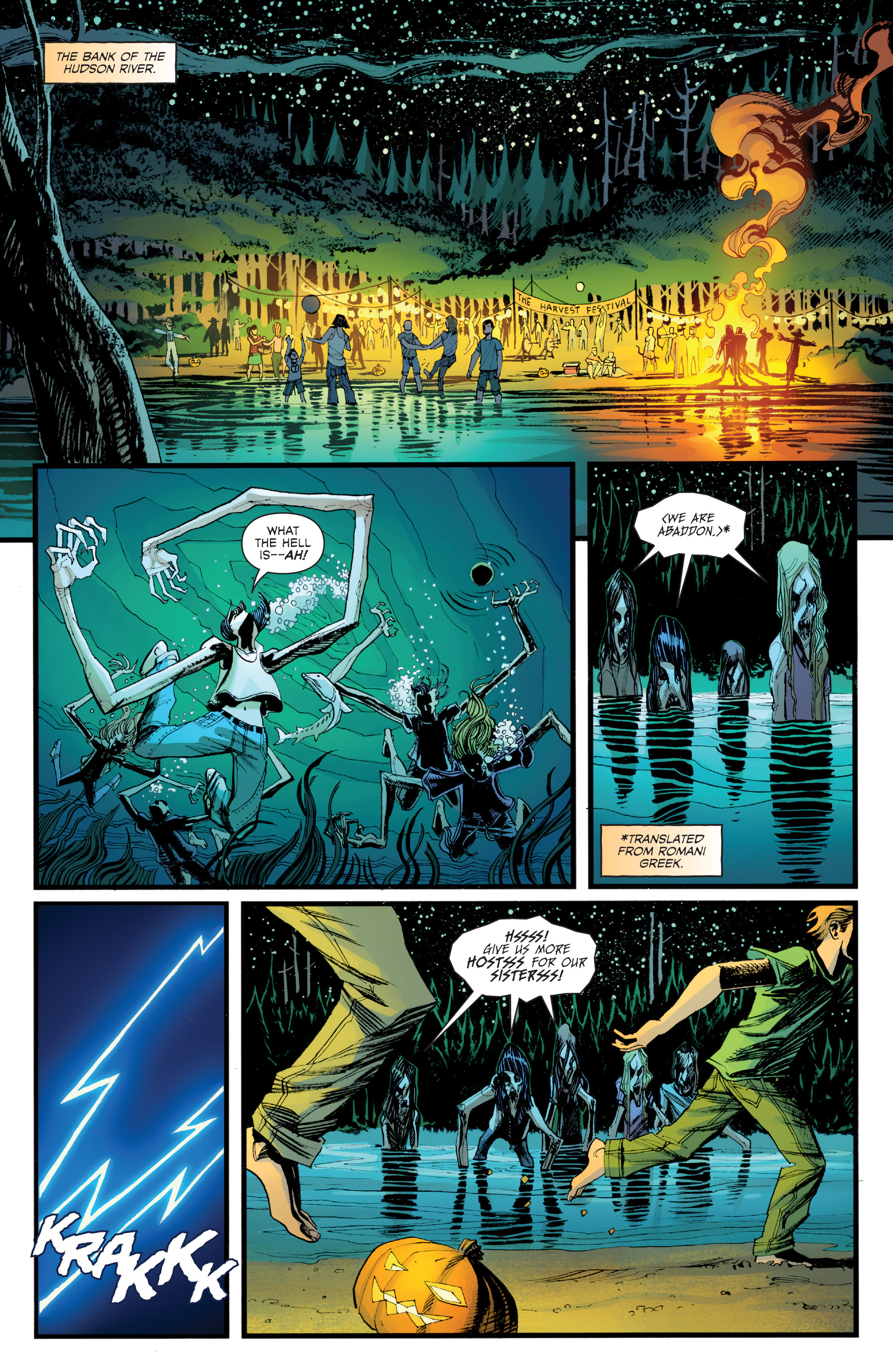 Read online Sleepy Hollow (2014) comic -  Issue #1 - 17