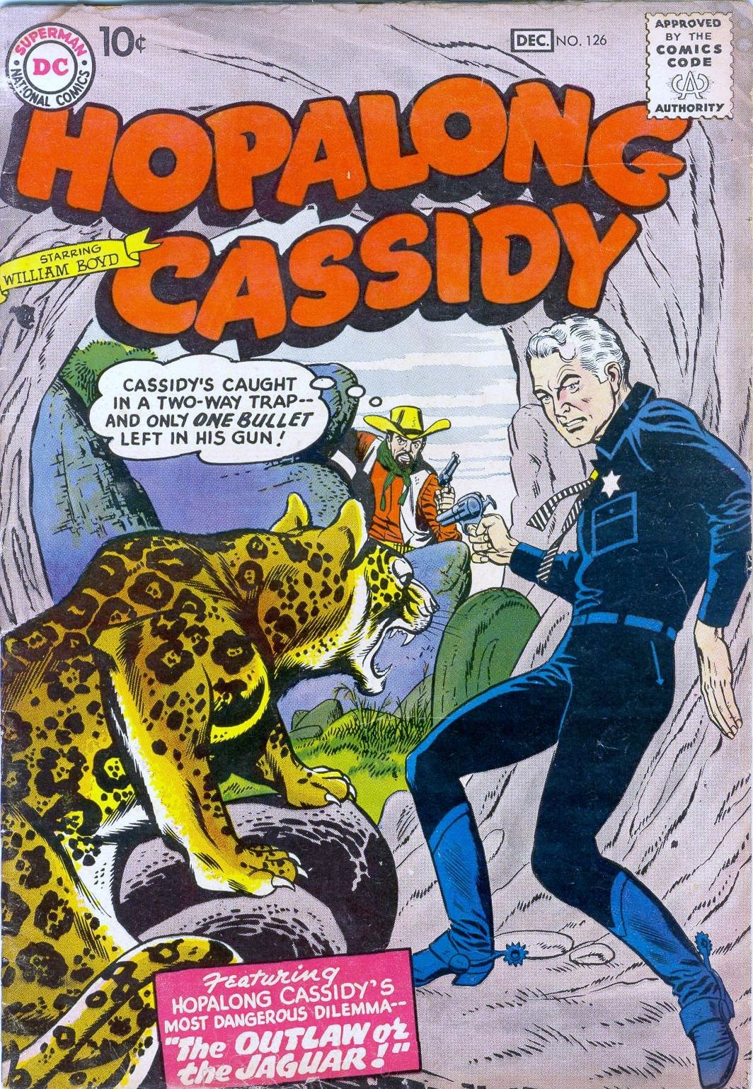 Hopalong Cassidy issue 126 - Page 1