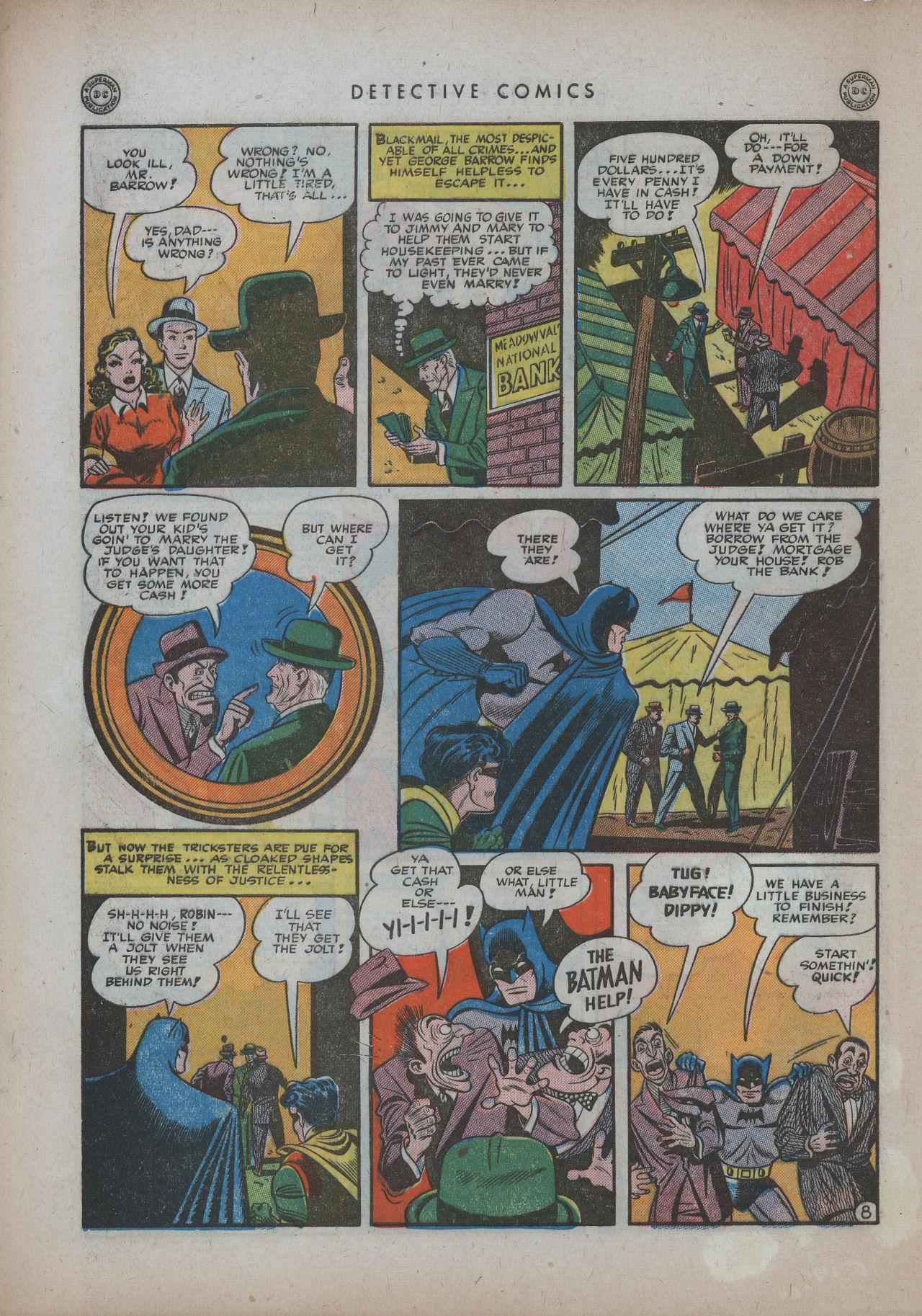 Read online Detective Comics (1937) comic -  Issue #94 - 10