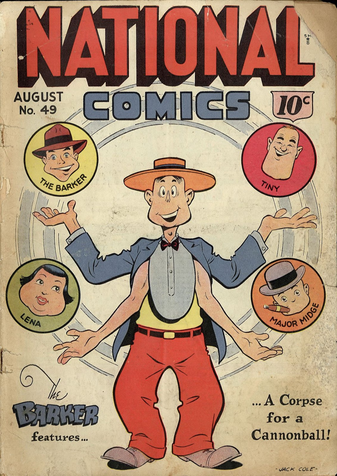 National Comics (1940) issue 49 - Page 1