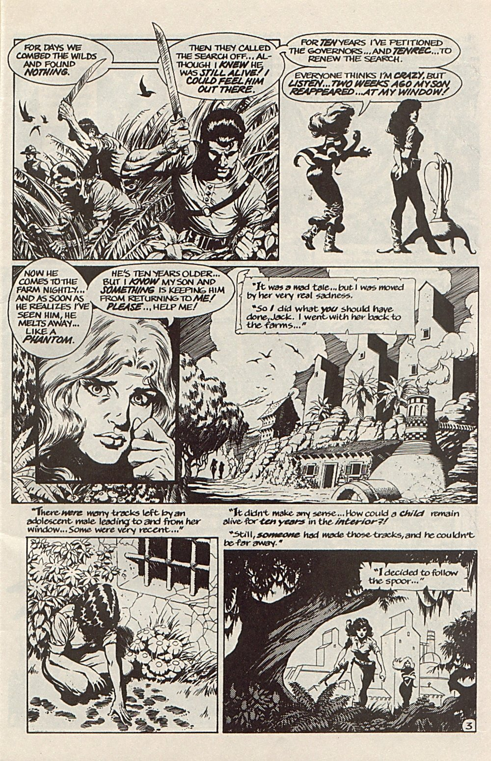 Read online Xenozoic Tales comic -  Issue #6 - 6