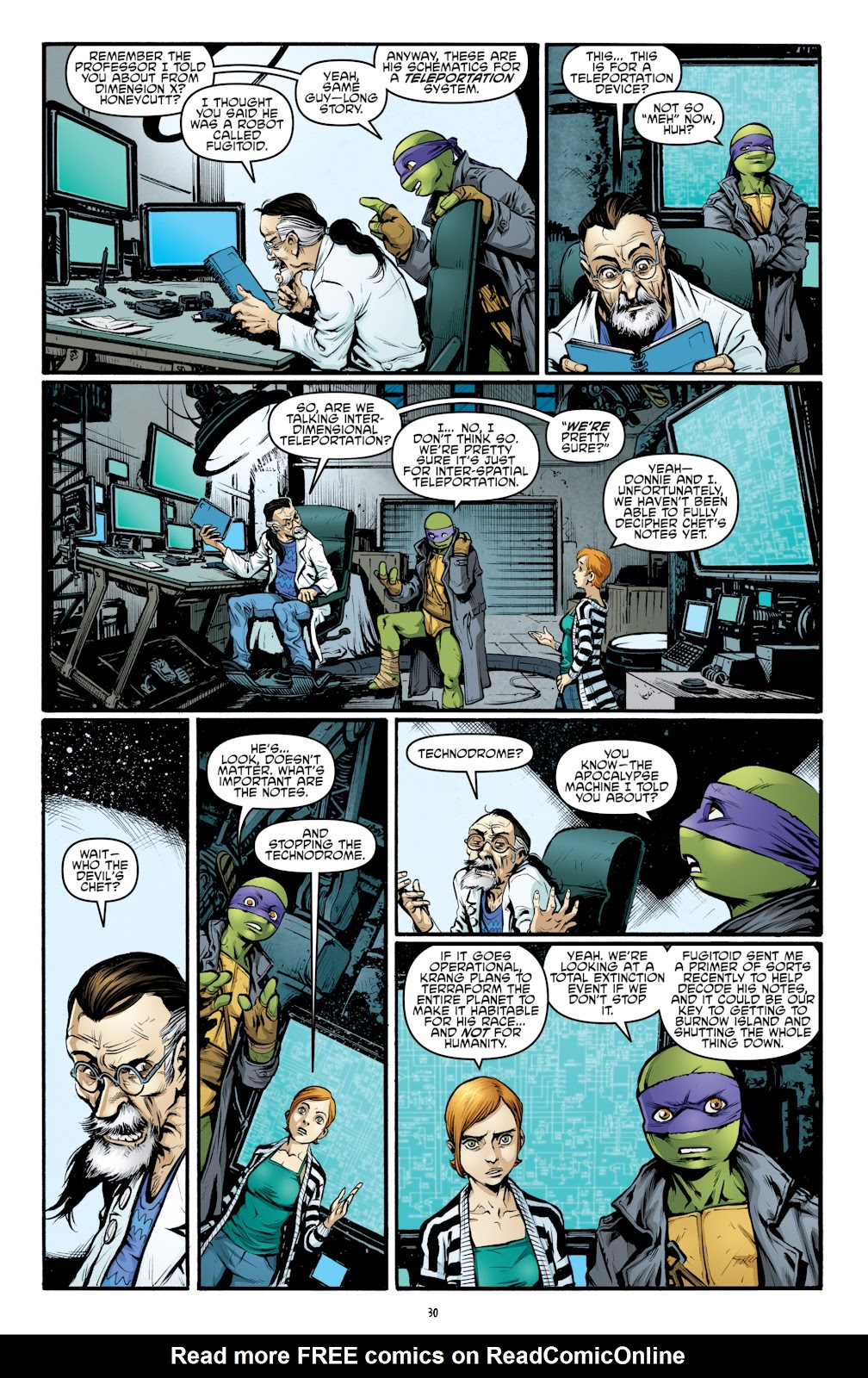 Read online Teenage Mutant Ninja Turtles: The IDW Collection comic -  Issue # TPB 4 (Part 3) - 38