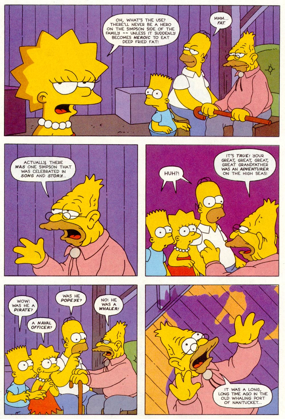 Read online Treehouse of Horror comic -  Issue #1 - 22