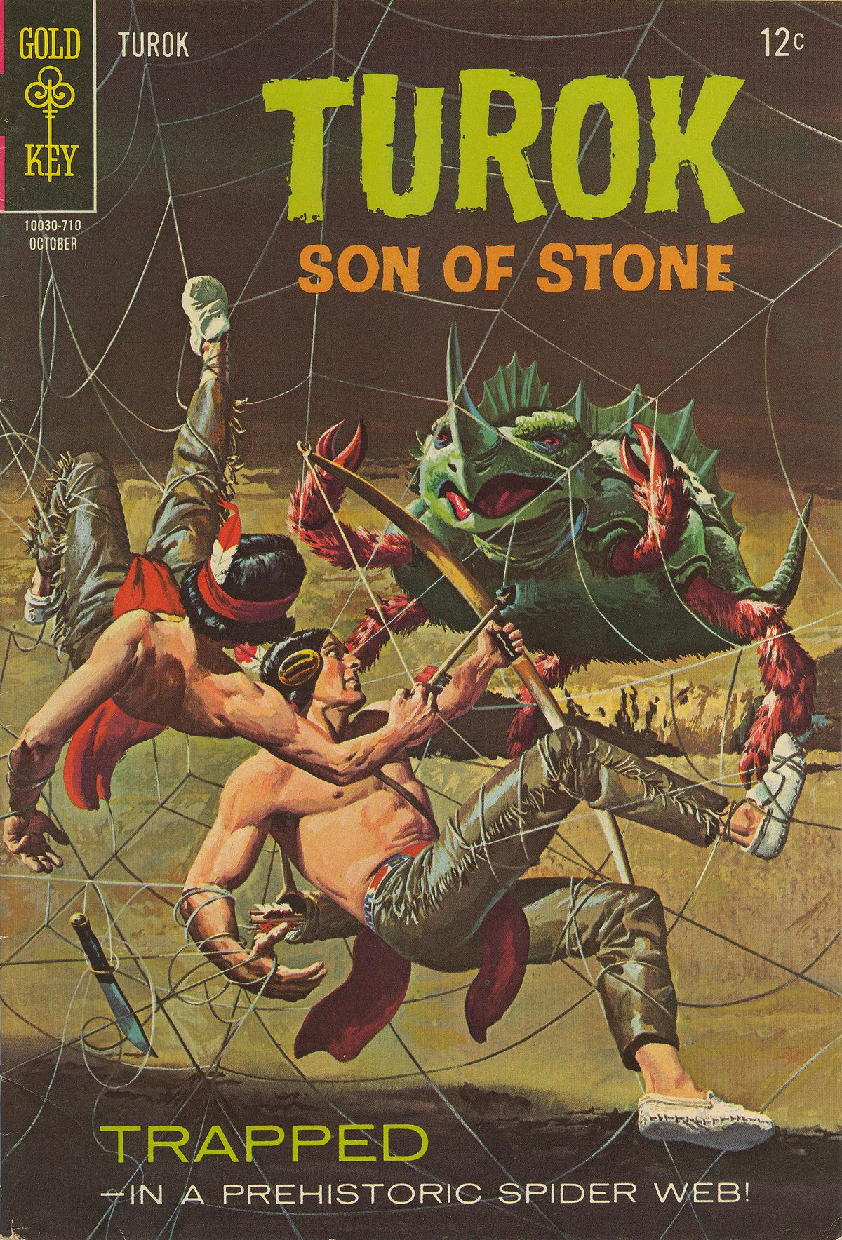 Read online Turok, Son of Stone comic -  Issue #59 - 1