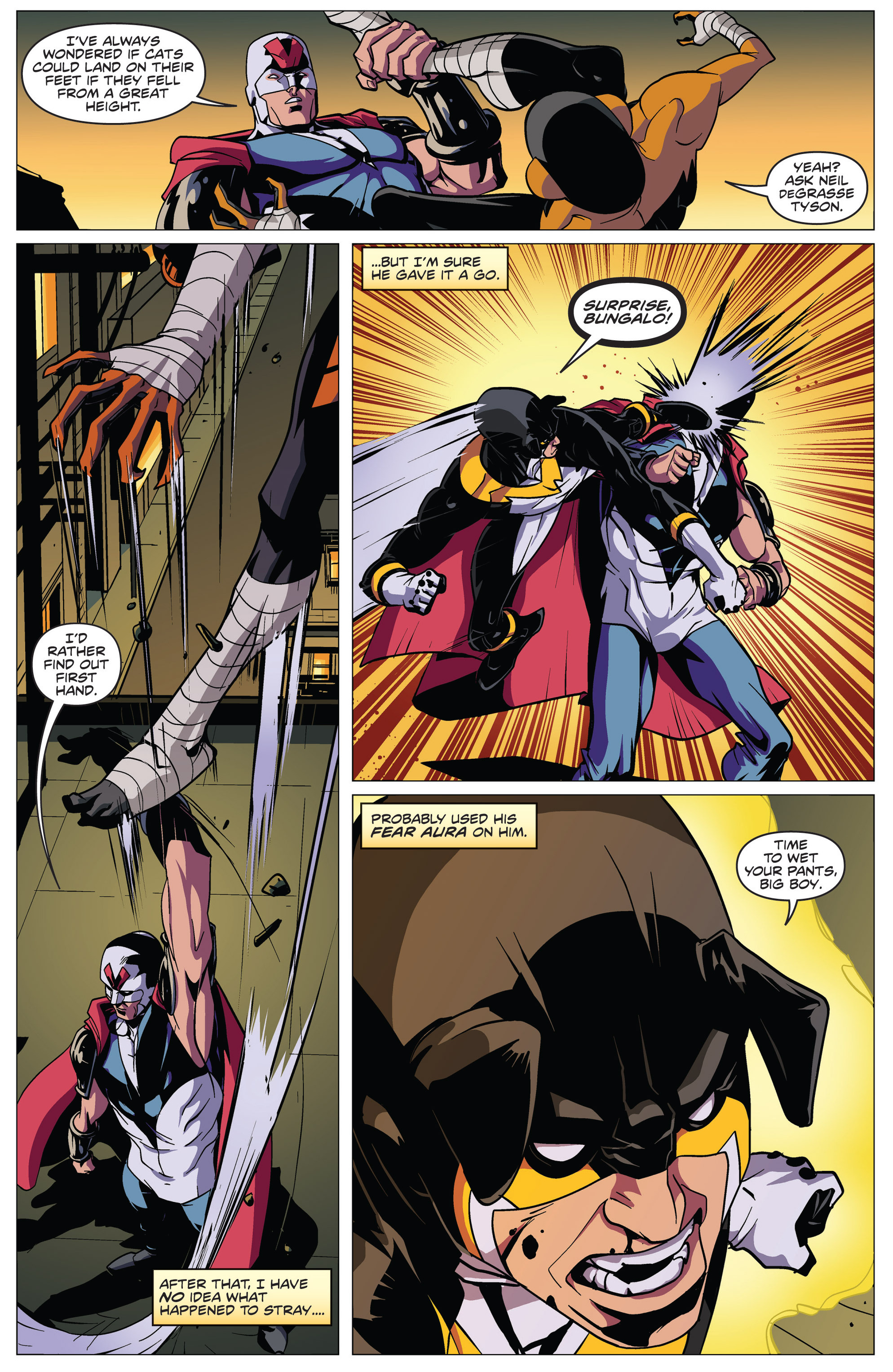 Read online Actionverse comic -  Issue #4 - 7