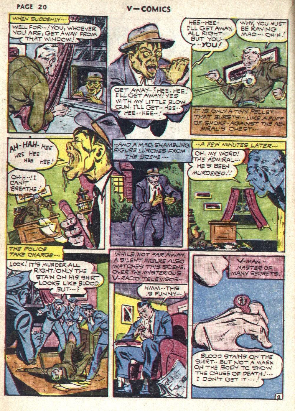 Read online V...- Comics comic -  Issue #1 - 22