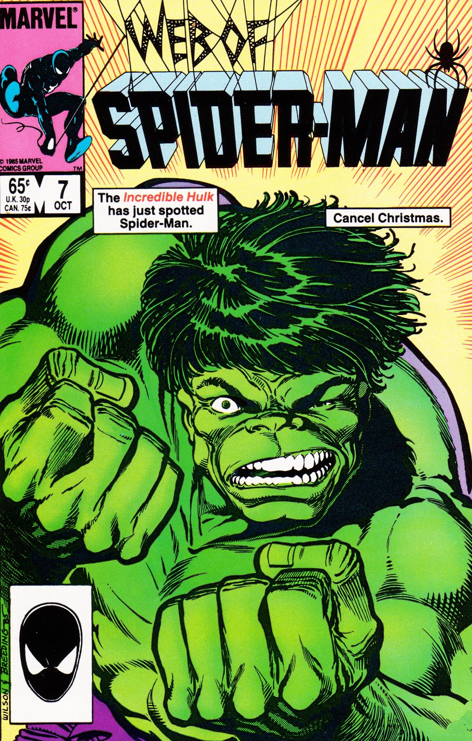 Web of Spider-Man (1985) 7 Page 1