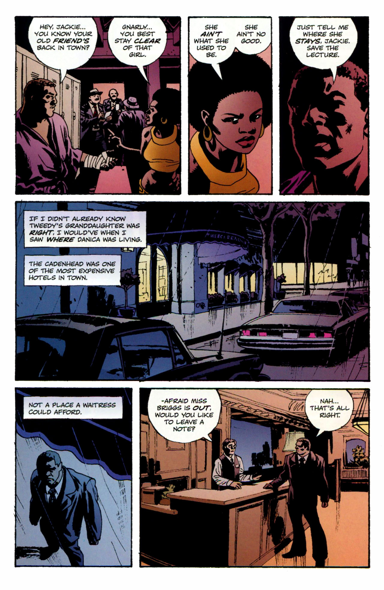 Read online Criminal (2008) comic -  Issue #1 - 20