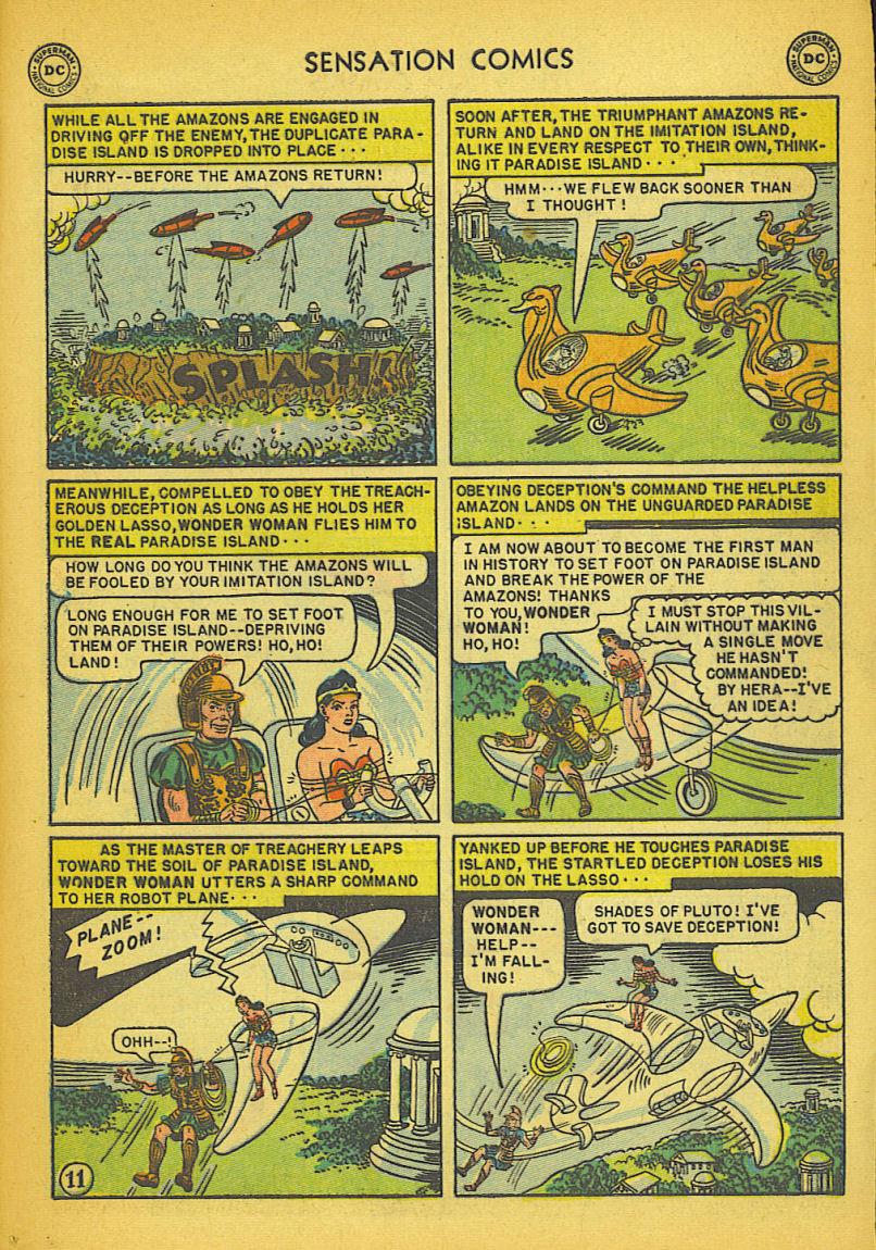 Read online Sensation (Mystery) Comics comic -  Issue #104 - 13