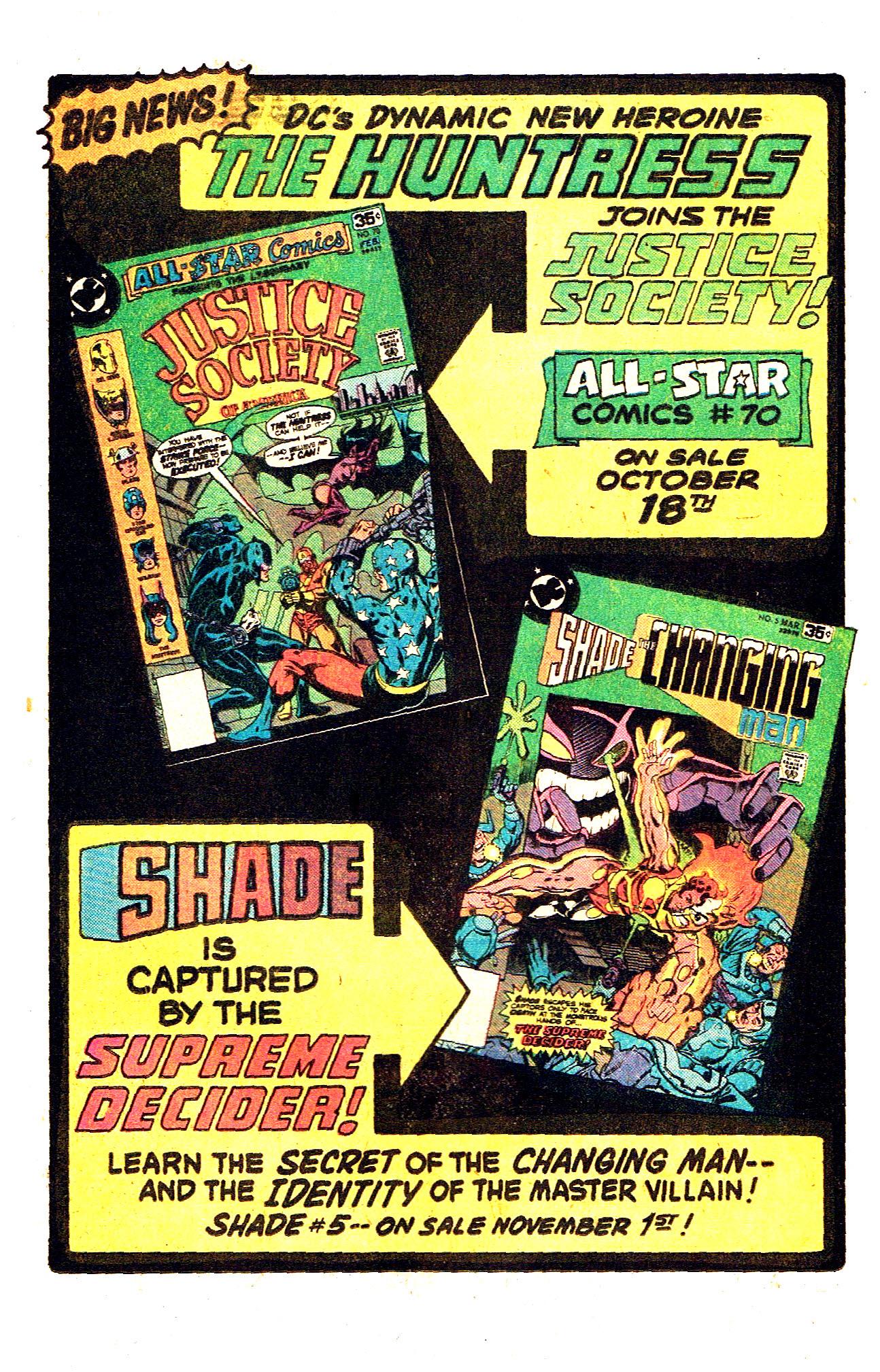 Read online Secret Society of Super-Villains comic -  Issue #12 - 24