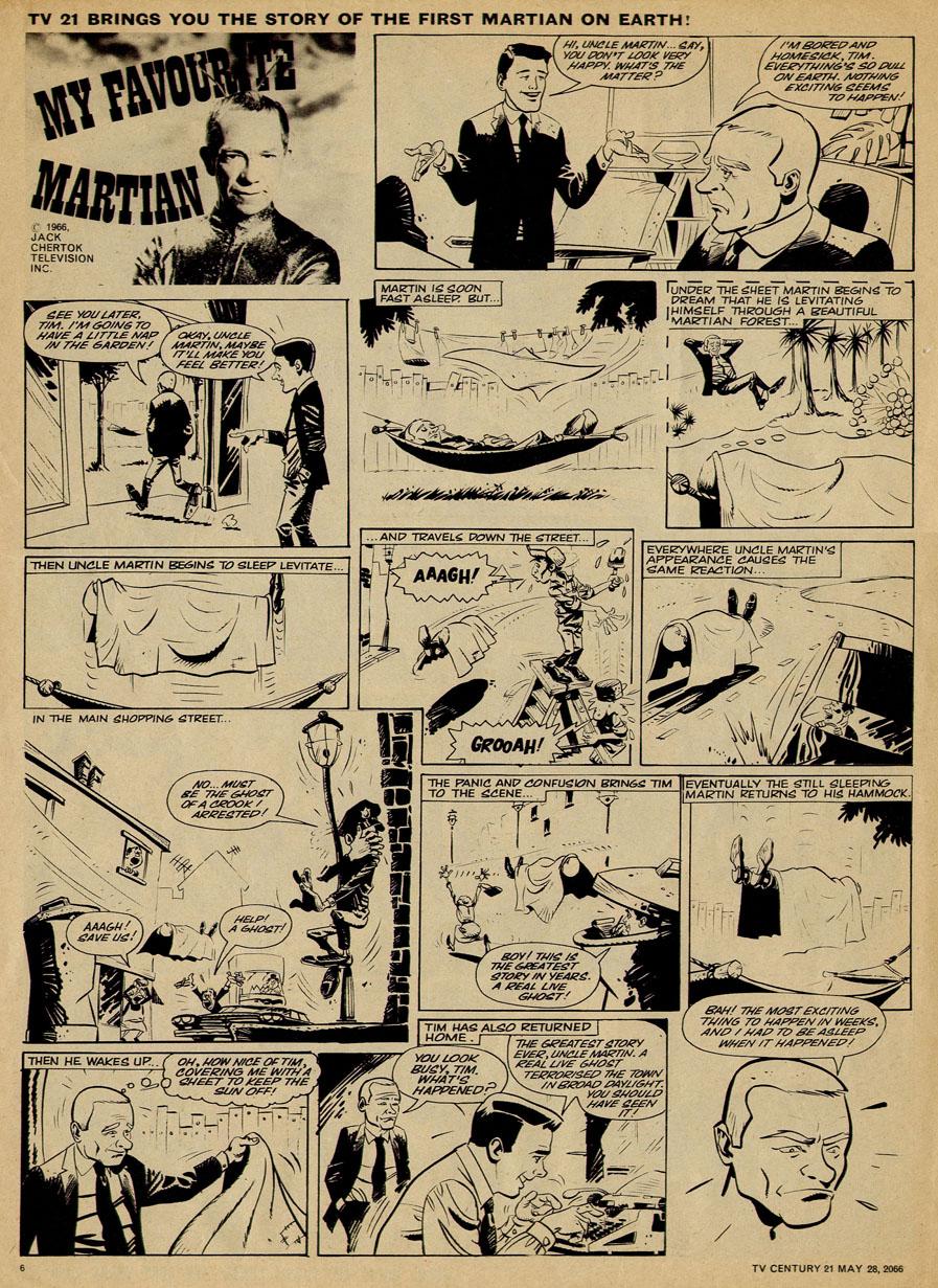 Read online TV Century 21 (TV 21) comic -  Issue #71 - 6