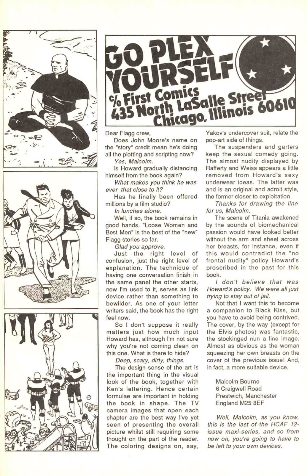Howard Chaykin's American Flagg issue 12 - Page 33