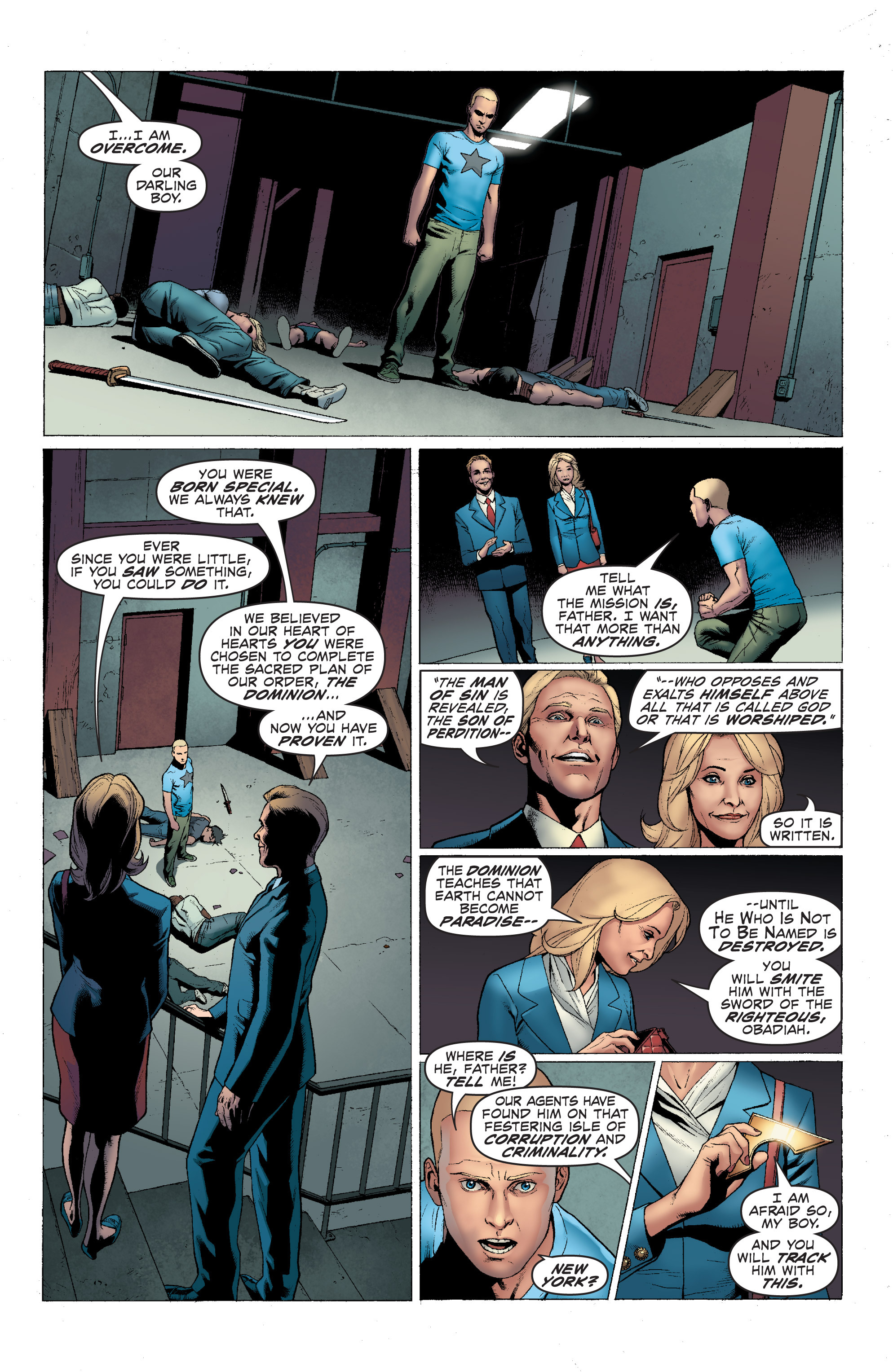 Read online Archer and Armstrong comic -  Issue #1 - 11