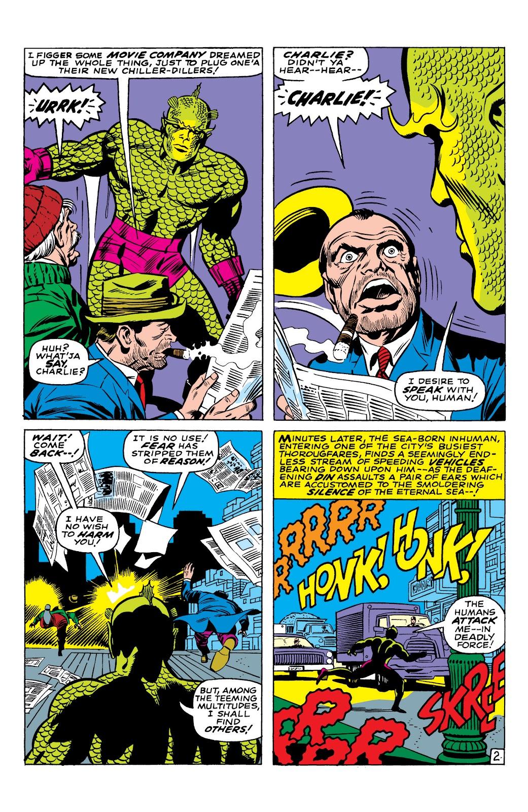 Read online Marvel Masterworks: The Inhumans comic -  Issue # TPB 1 (Part 1) - 39