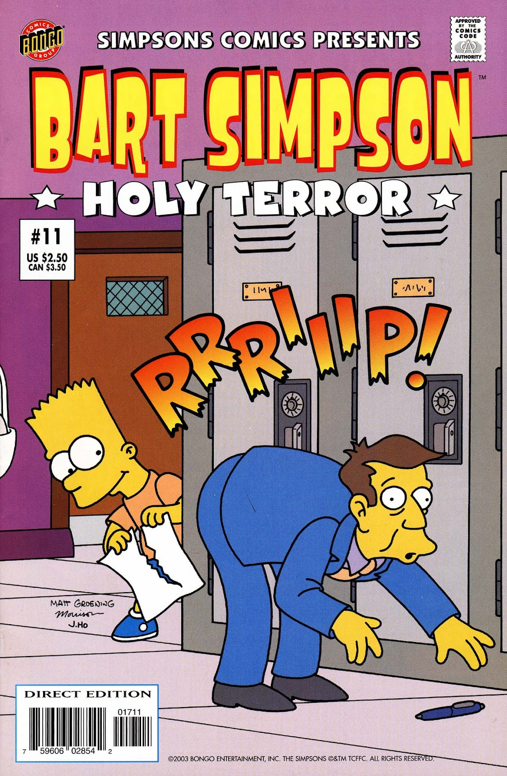 Simpsons Comics Presents Bart Simpson 11 Page 1