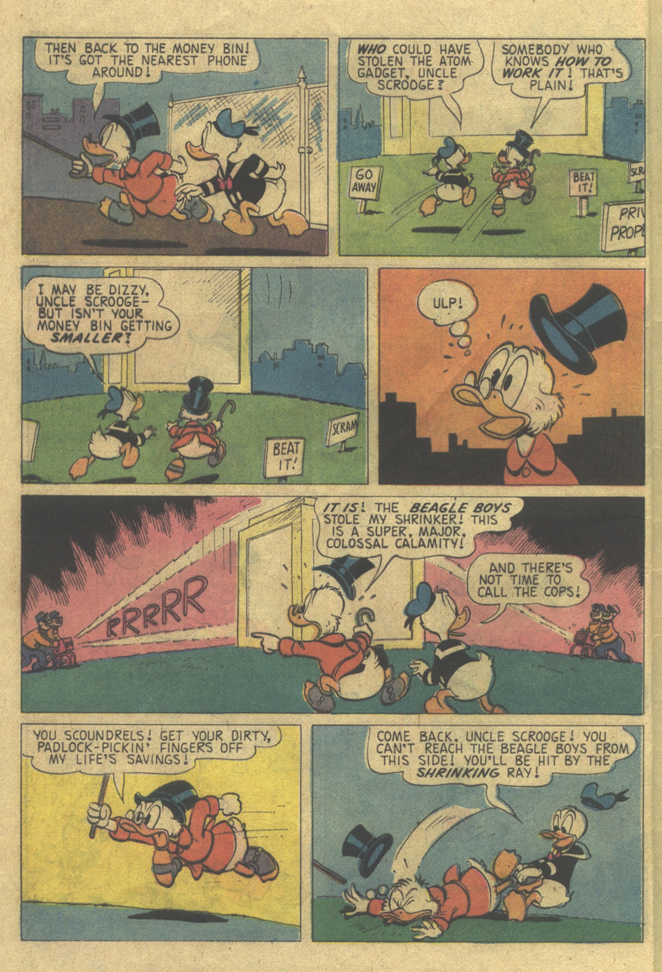 Read online Uncle Scrooge (1953) comic -  Issue #120 - 6
