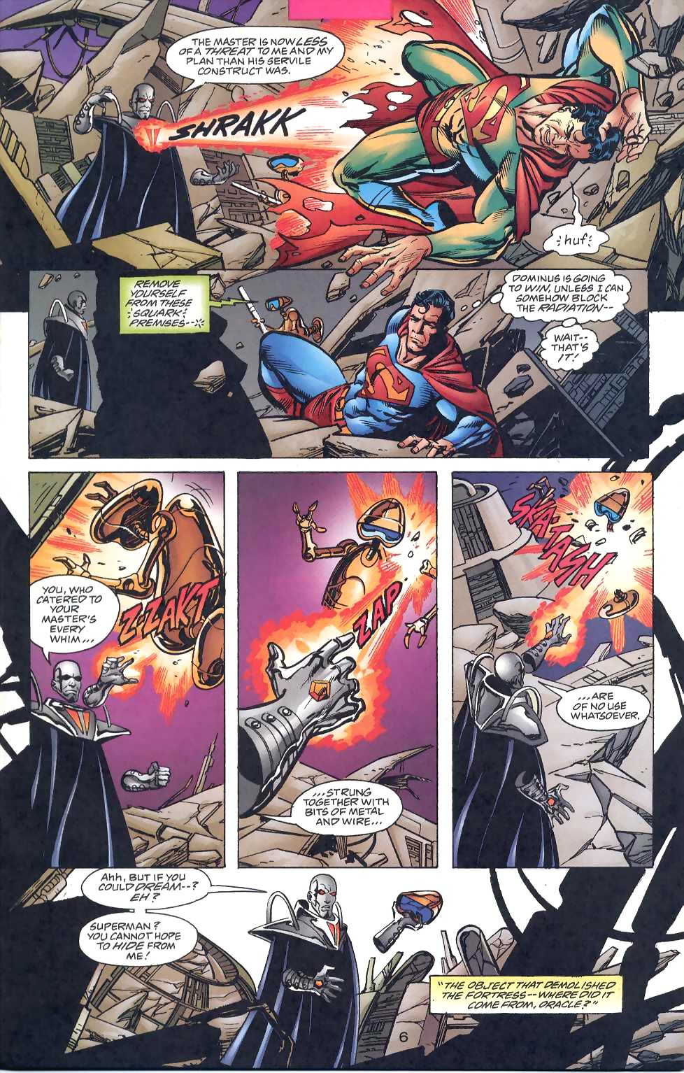 Read online Adventures of Superman (1987) comic -  Issue #567 - 8