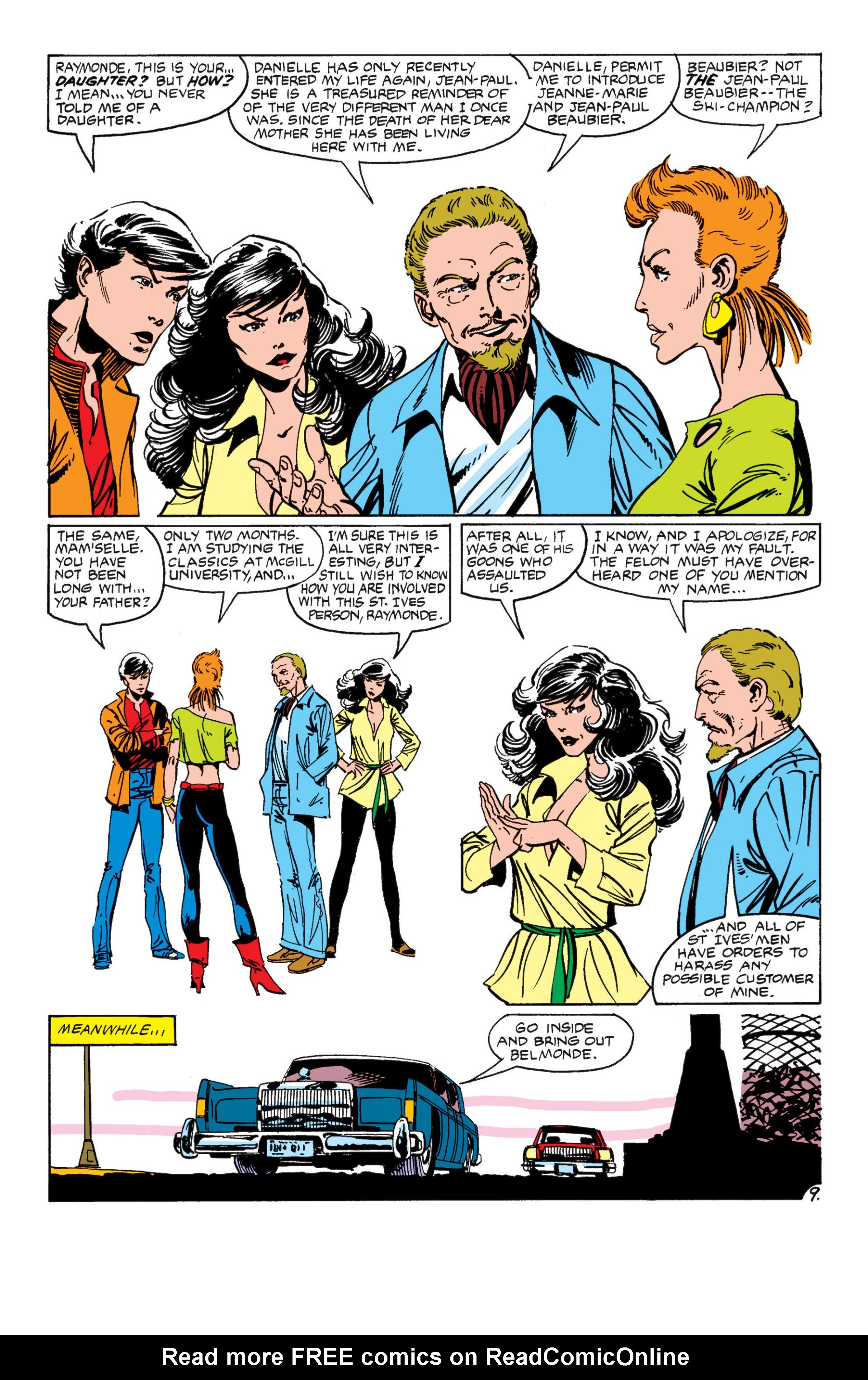 Read online Alpha Flight (1983) comic -  Issue #7 - 10
