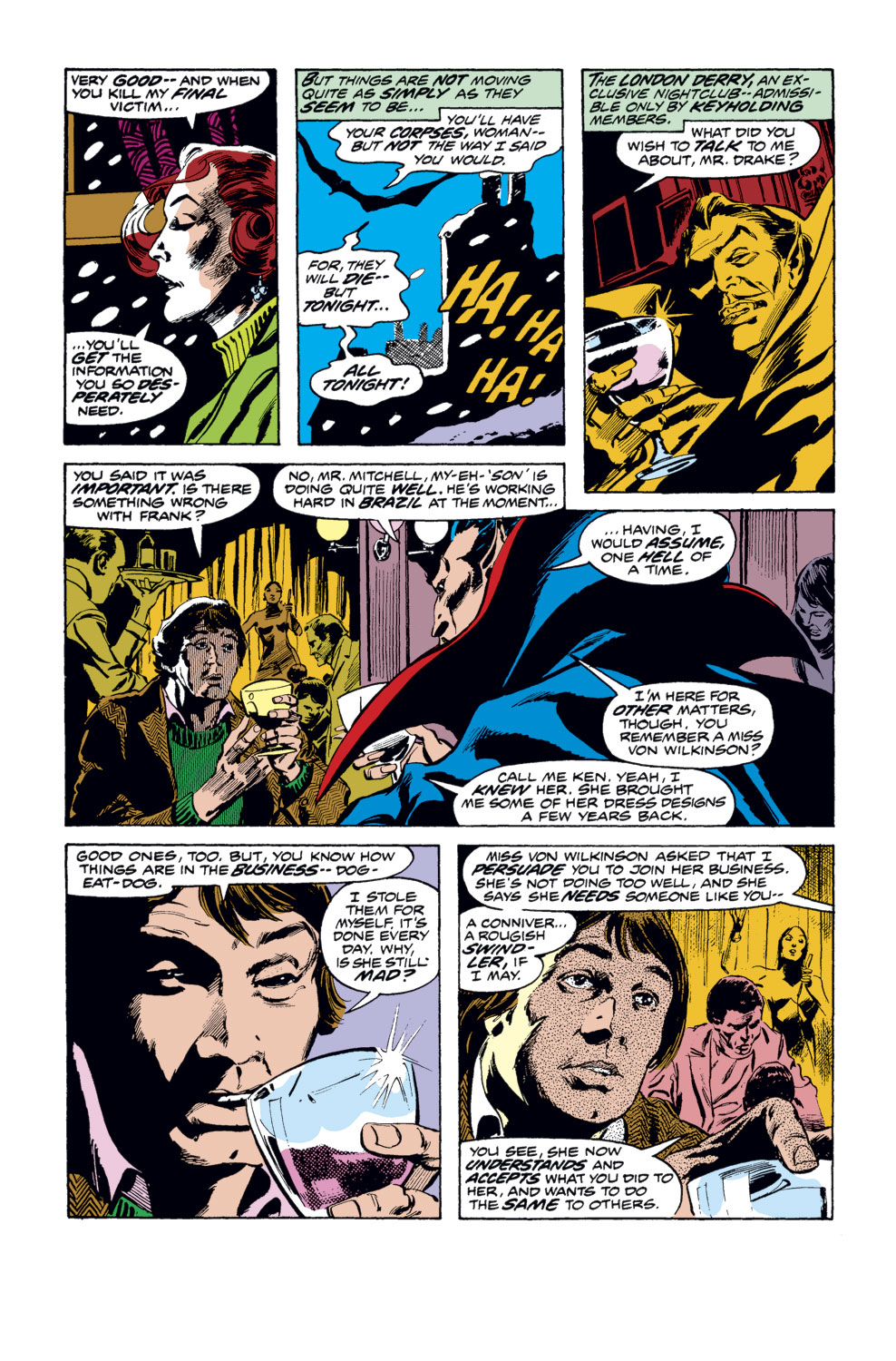 Tomb of Dracula (1972) issue 35 - Page 13