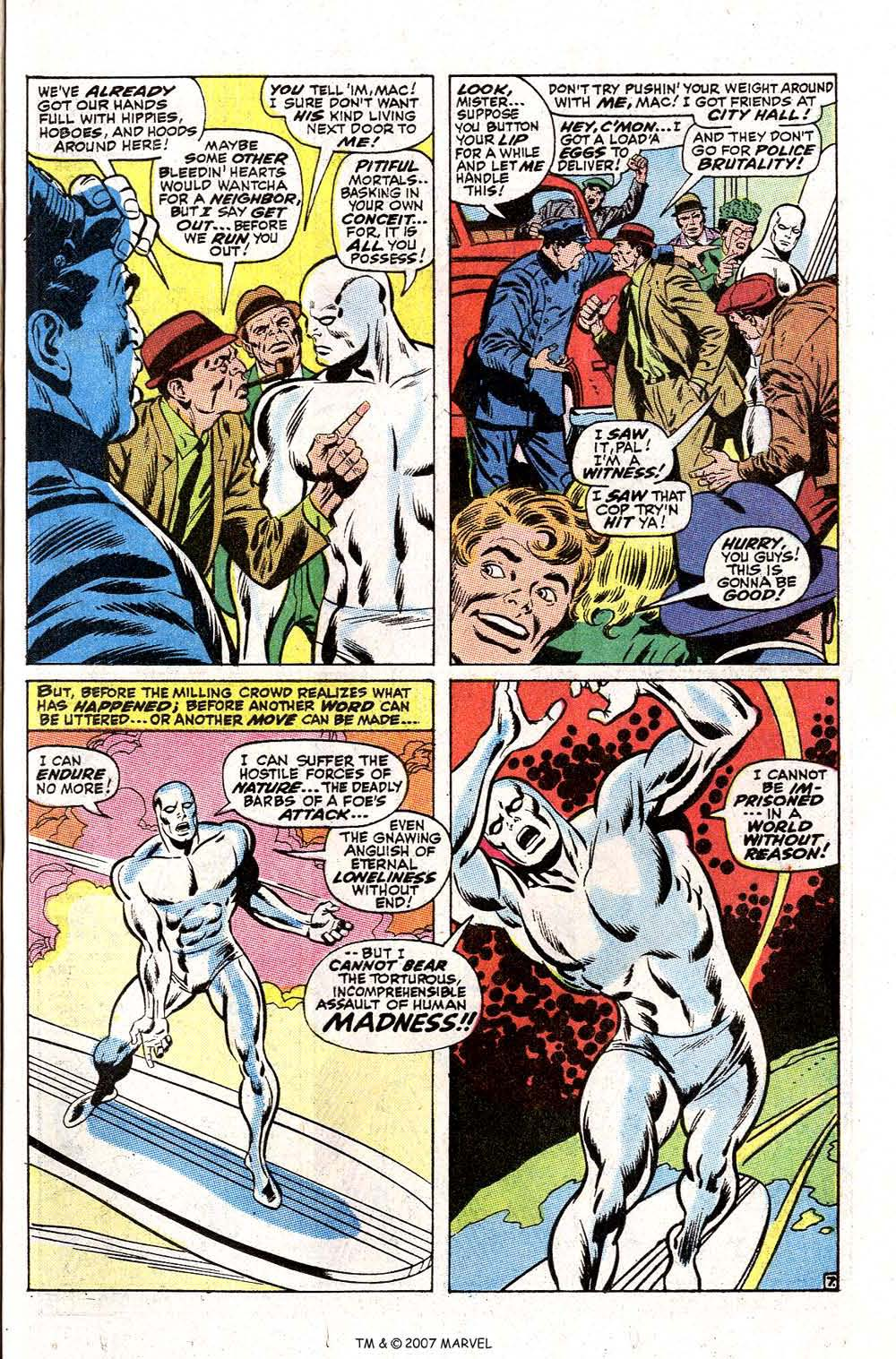 Read online Silver Surfer (1968) comic -  Issue #2 - 9