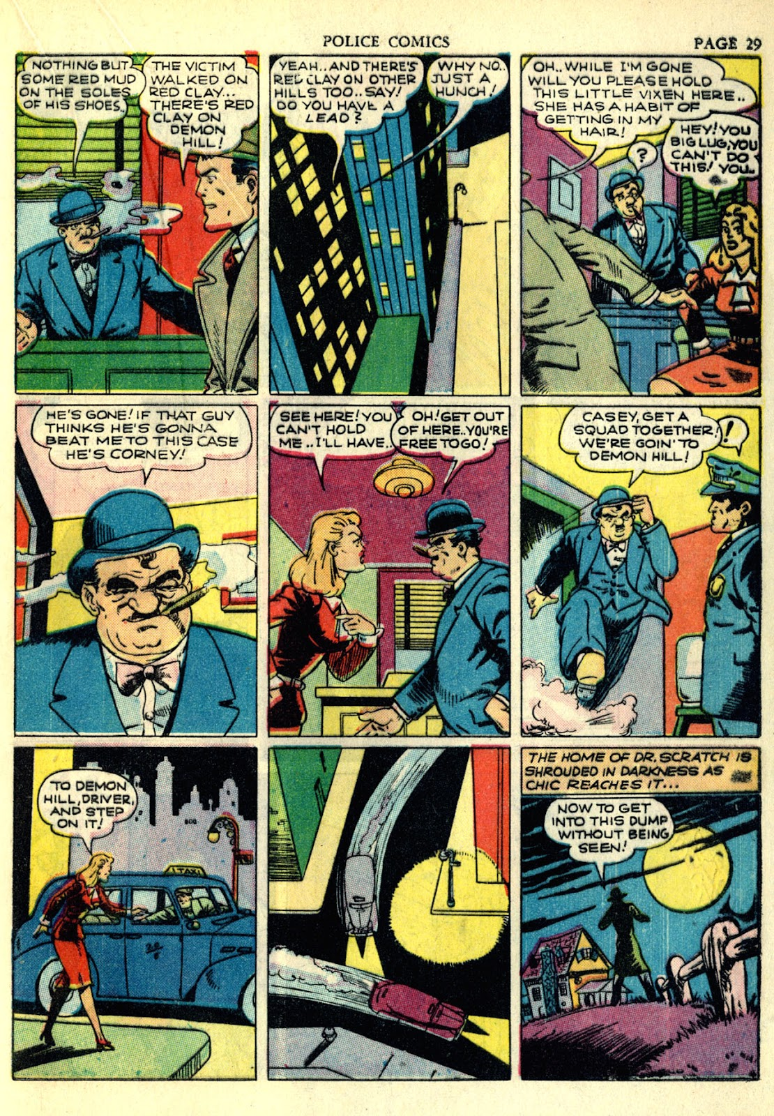 Police Comics issue 4 - Page 32