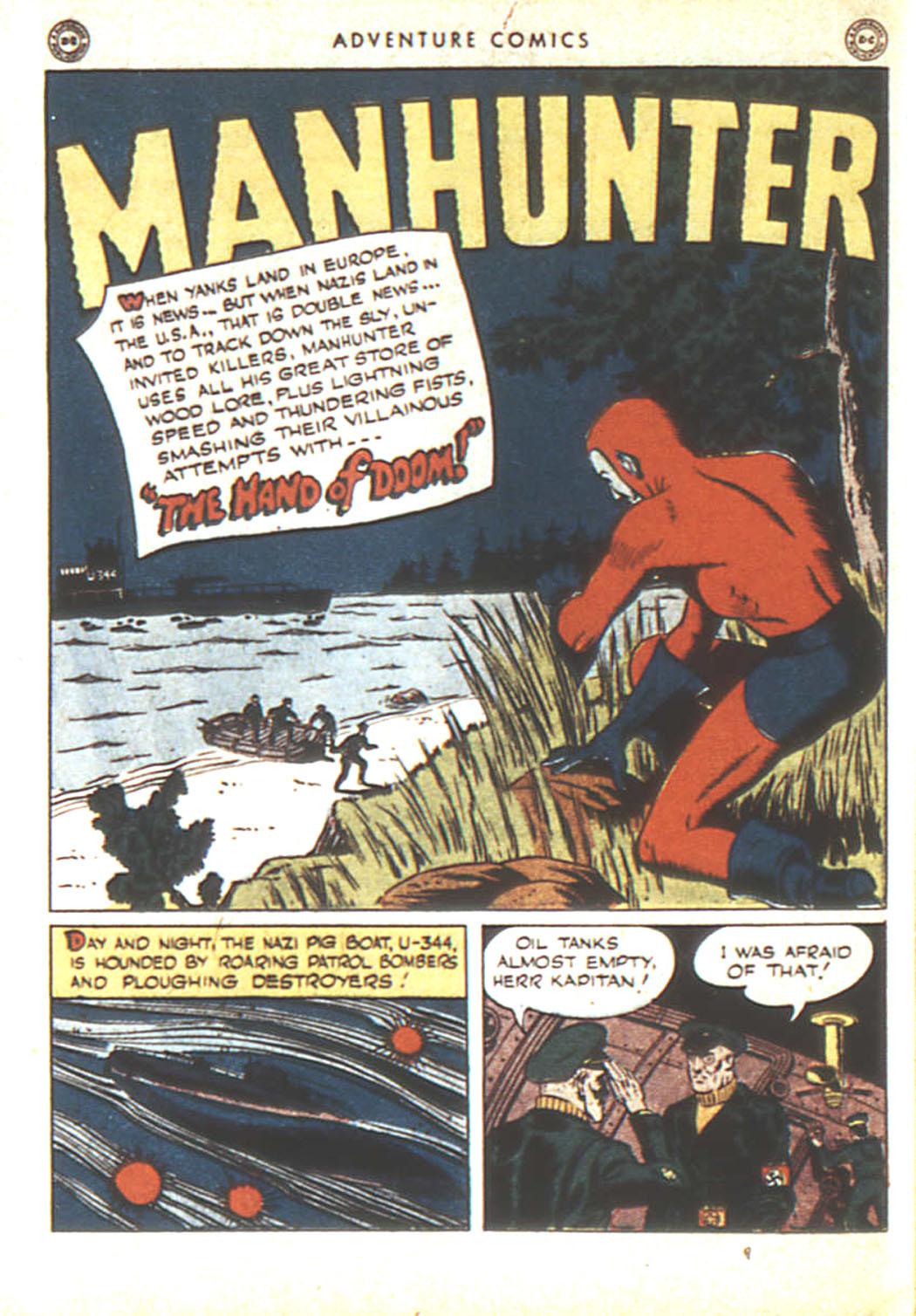 Read online Adventure Comics (1938) comic -  Issue #92 - 43