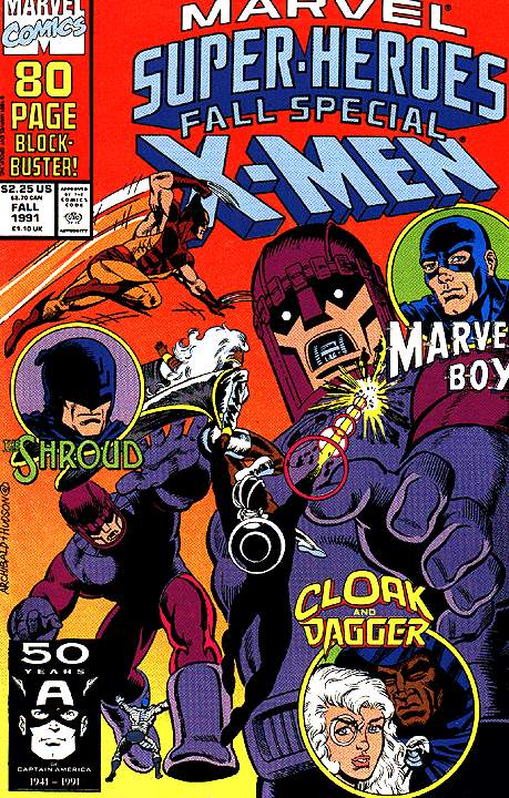 Marvel Super-Heroes (1990) 7 Page 1