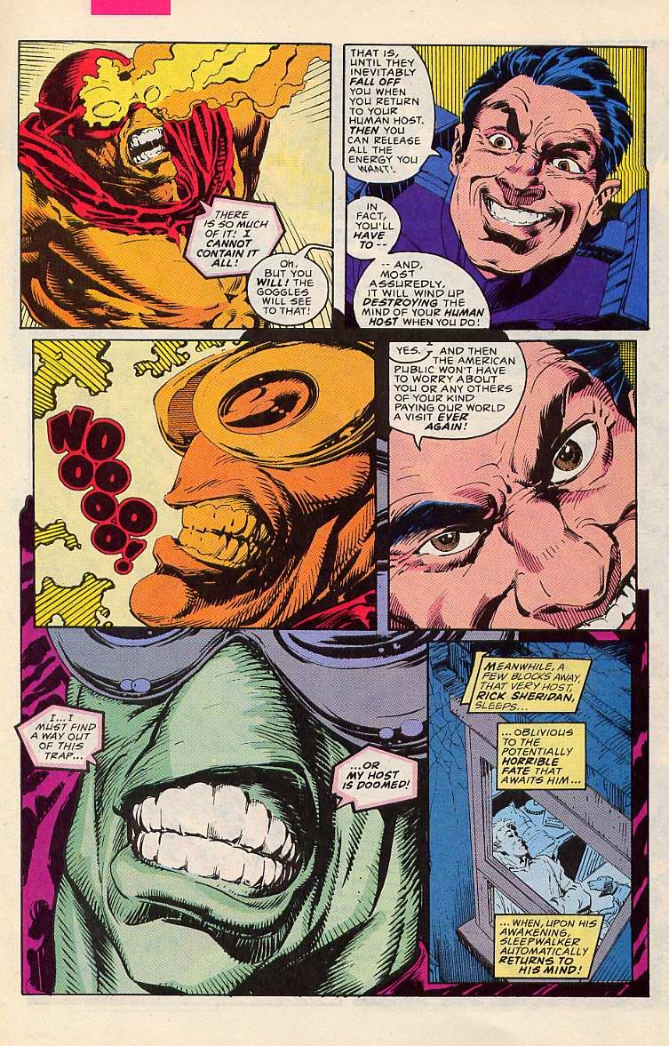 Read online Sleepwalker comic -  Issue #11 - 5