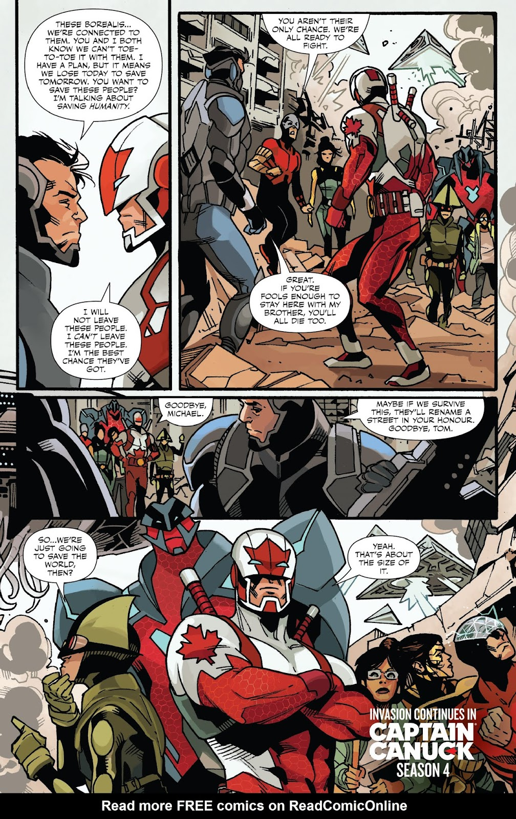 Captain Canuck: Invasion (Canada Day 2018) issue Full - Page 20