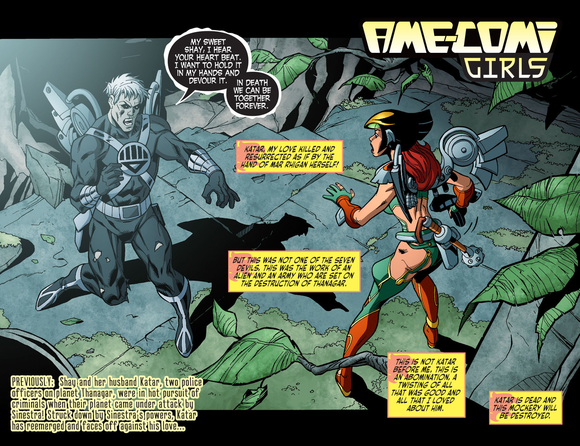 Read online Ame-Comi Girls comic -  Issue #14 - 3