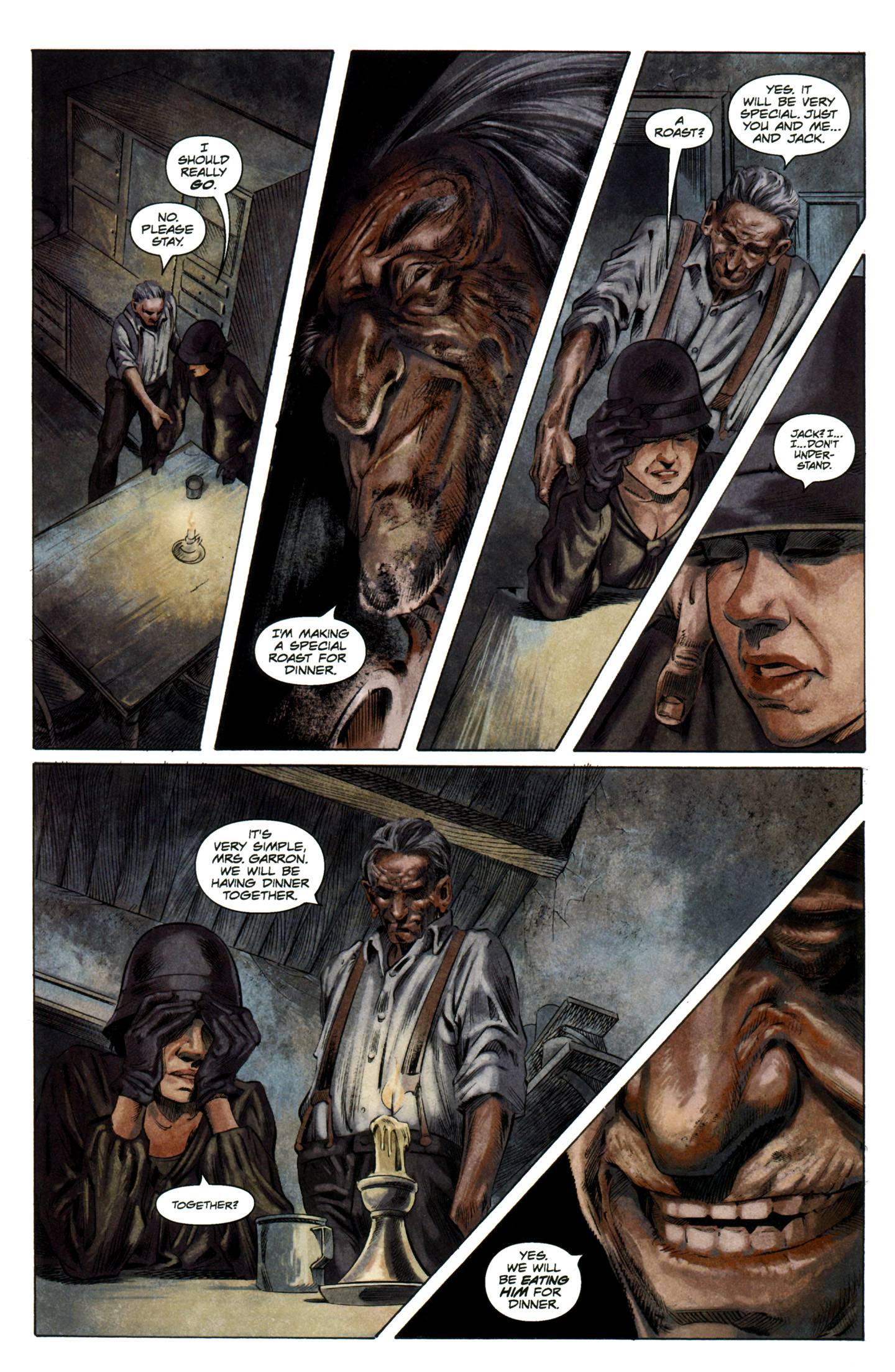 Read online Severed comic -  Issue #7 - 16