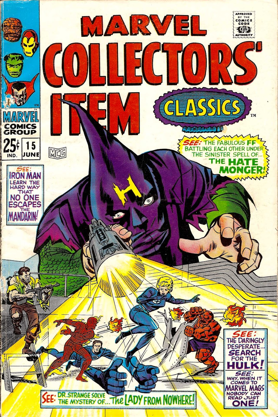 Marvel Collectors Item Classics 15 Page 1