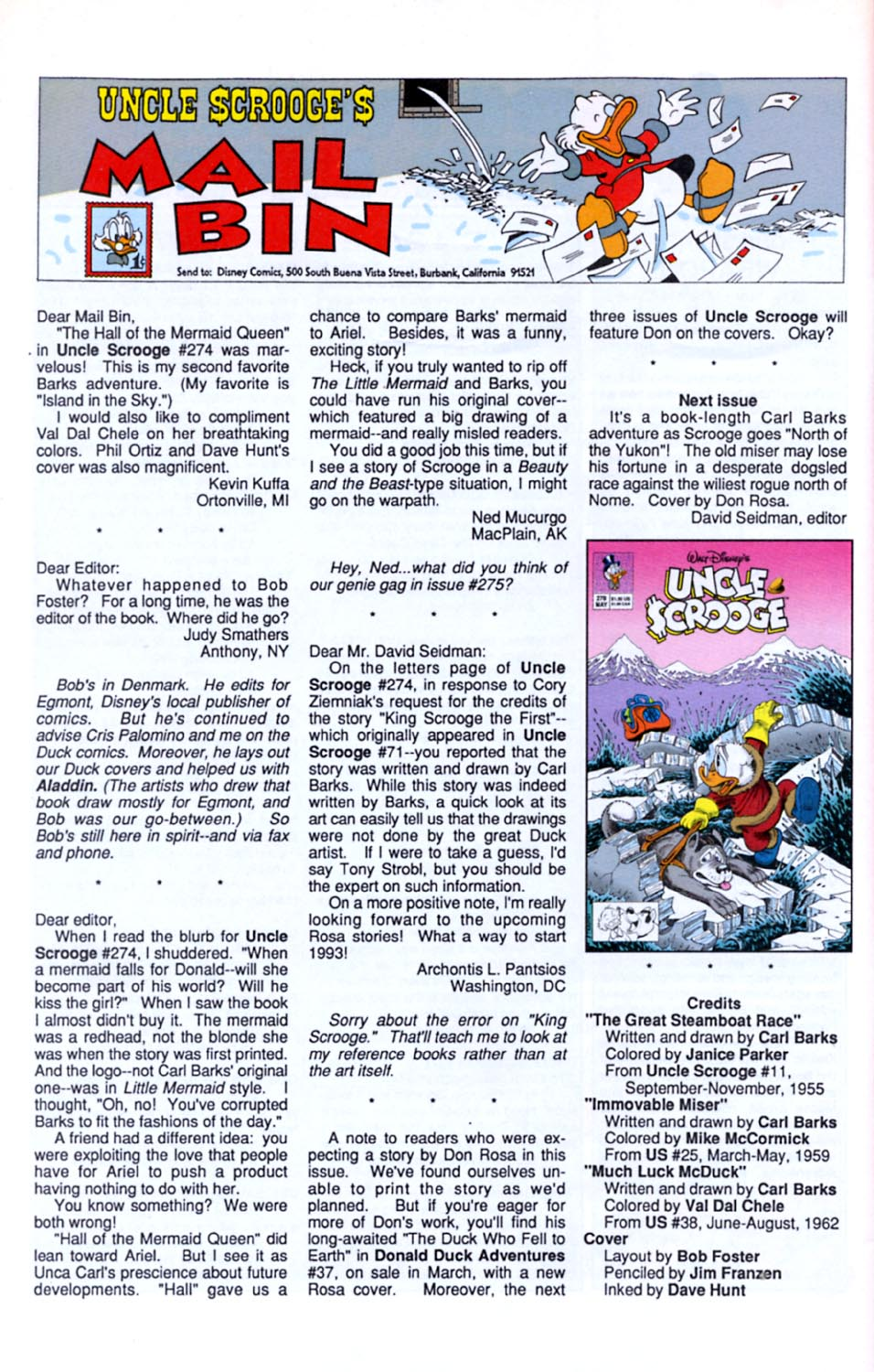 Read online Uncle Scrooge (1953) comic -  Issue #277 - 27