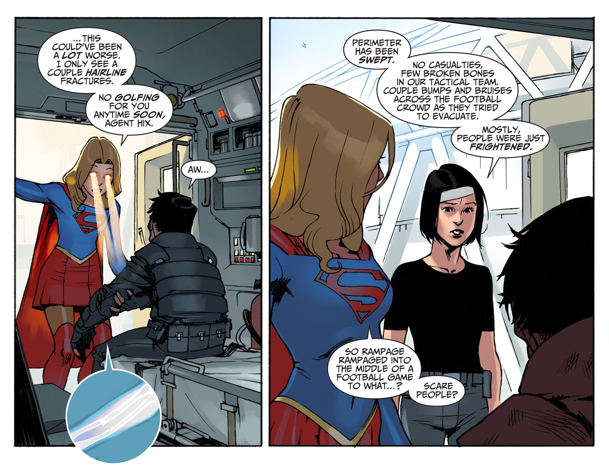Read online Adventures of Supergirl comic -  Issue #2 - 8