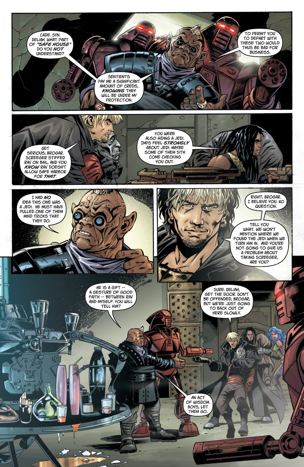 Read online Star Wars Legends: Legacy - Epic Collection comic -  Issue # TPB 1 (Part 1) - 43