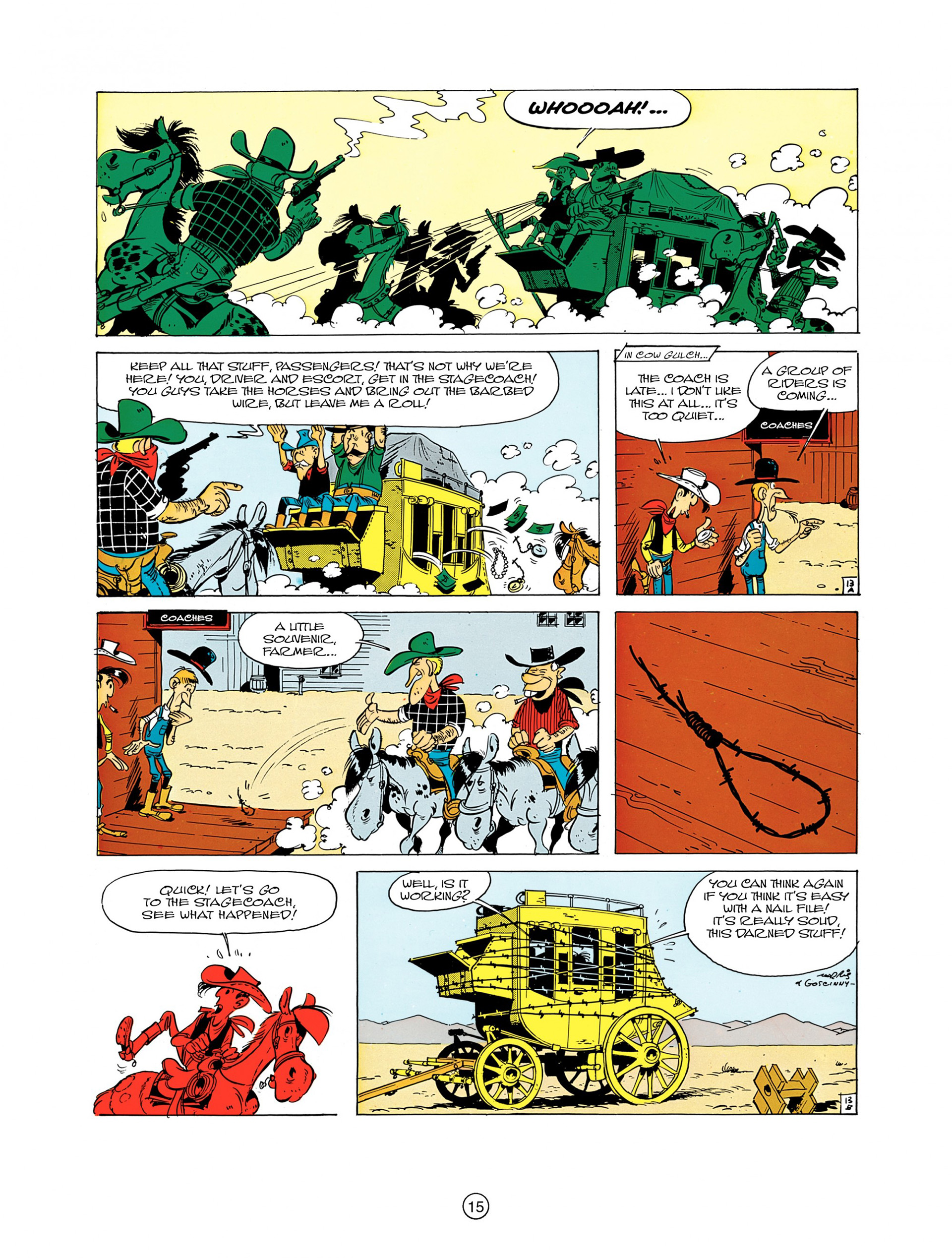 Read online A Lucky Luke Adventure comic -  Issue #7 - 15