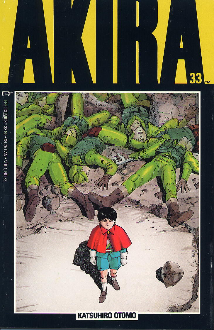 Read online Akira comic -  Issue #33 - 1
