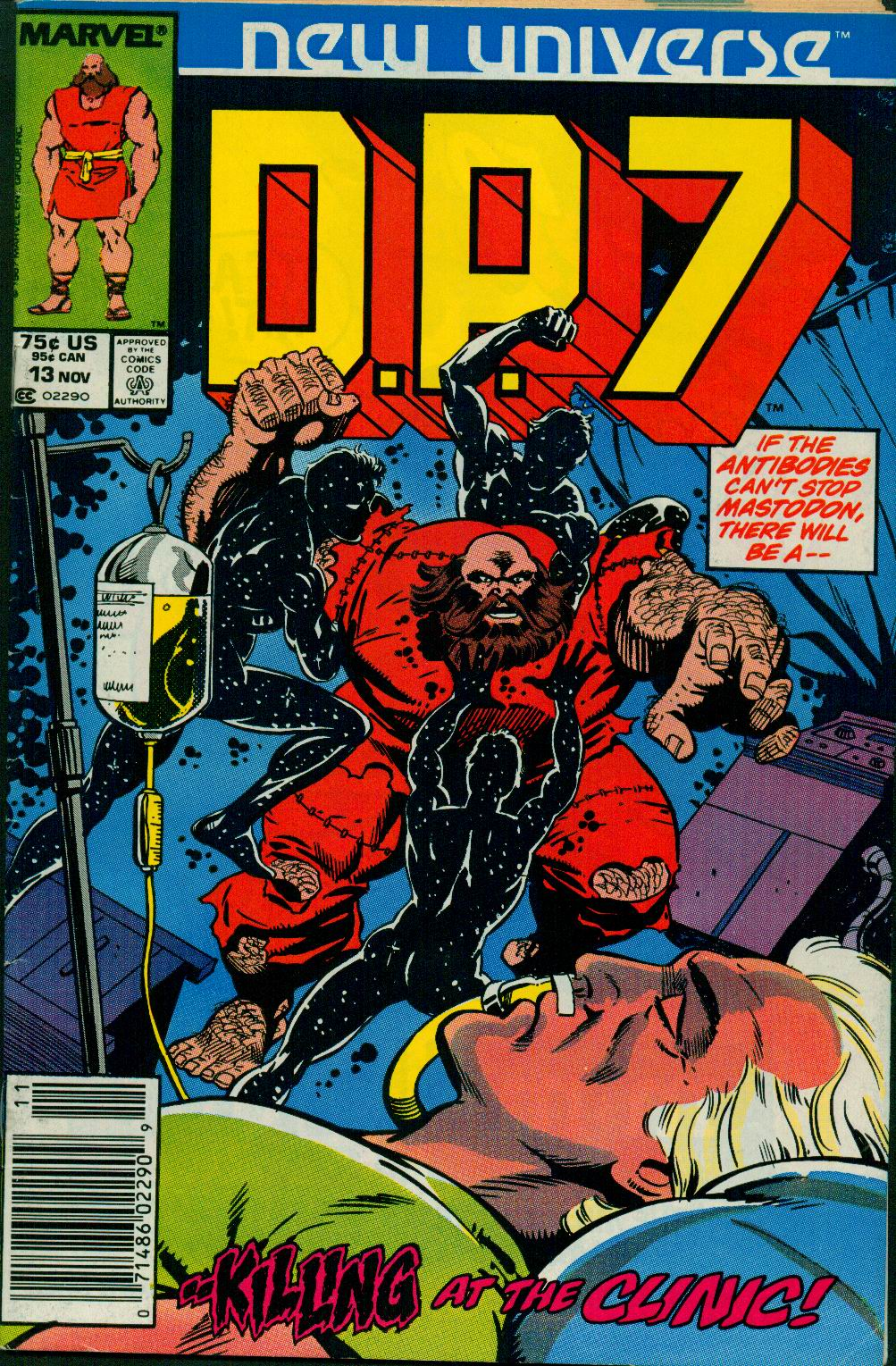 Read online DP7 comic -  Issue #13 - 1
