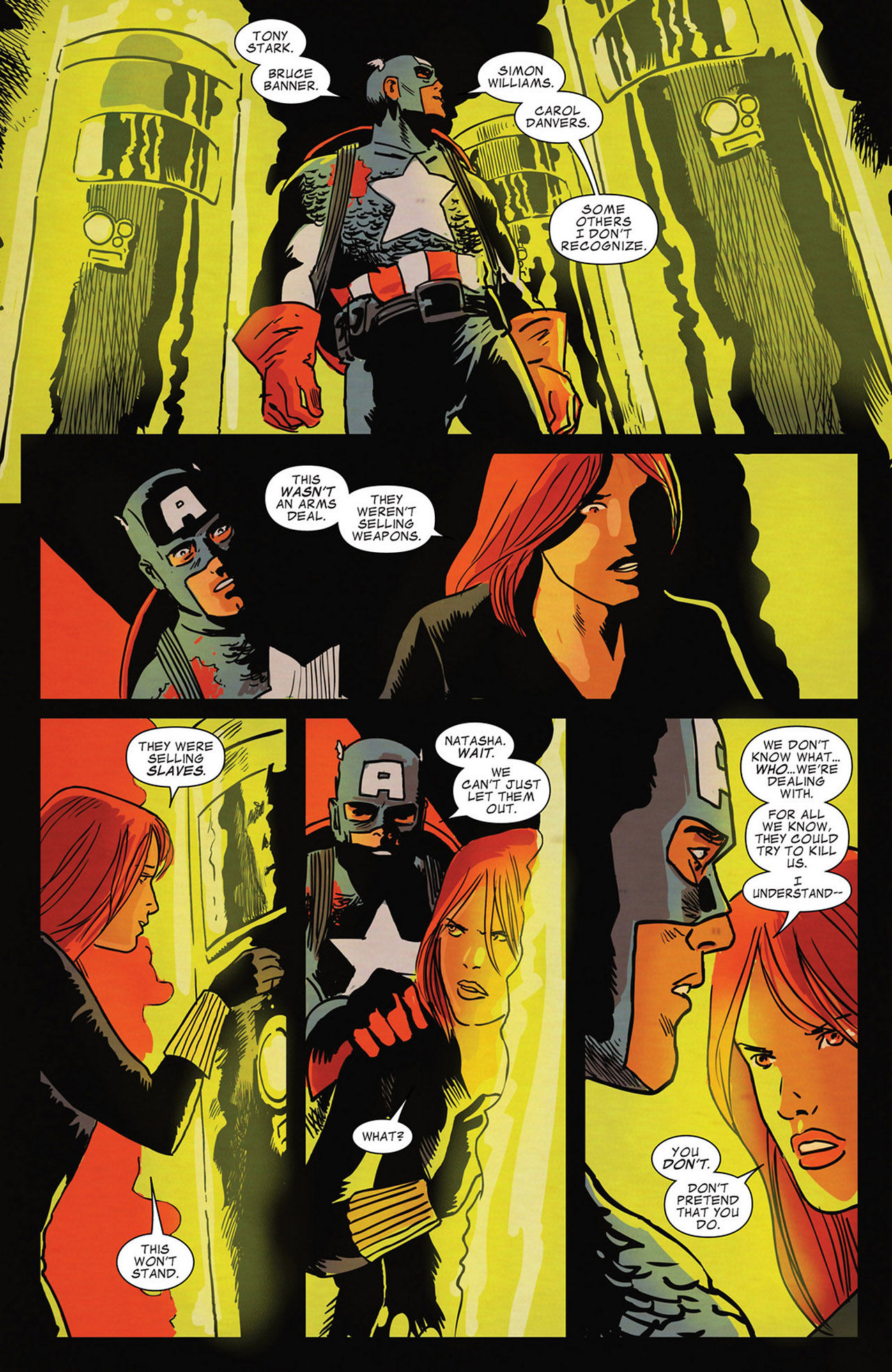 Read online Captain America And Black Widow comic -  Issue #637 - 12