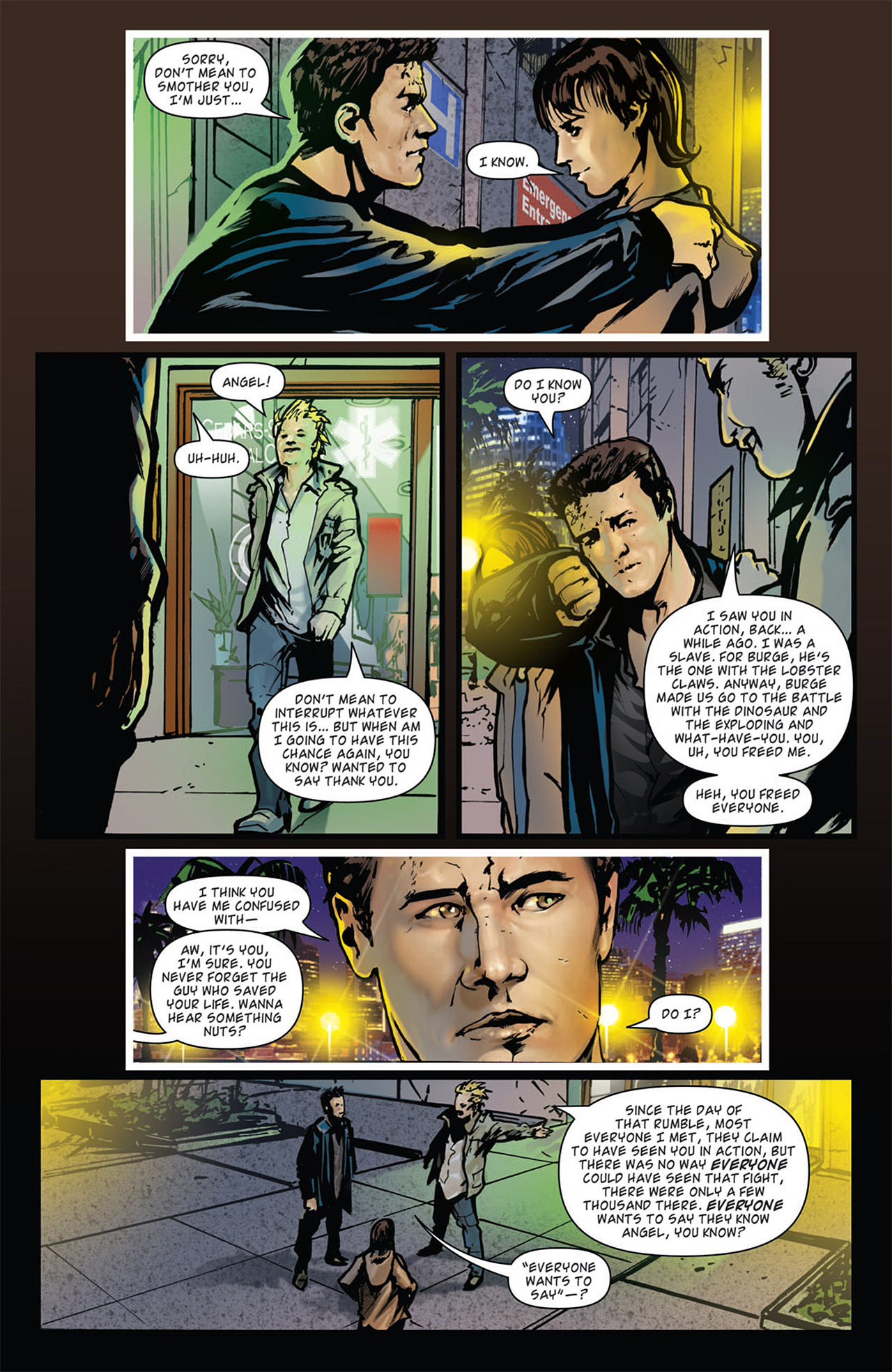 Read online Angel: After The Fall comic -  Issue #16 - 25