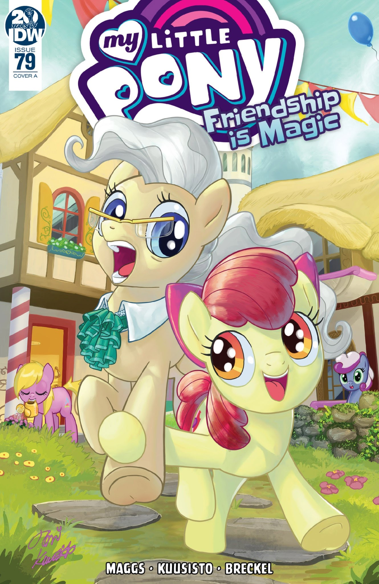 My Little Pony: Friendship is Magic issue 79 - Page 1