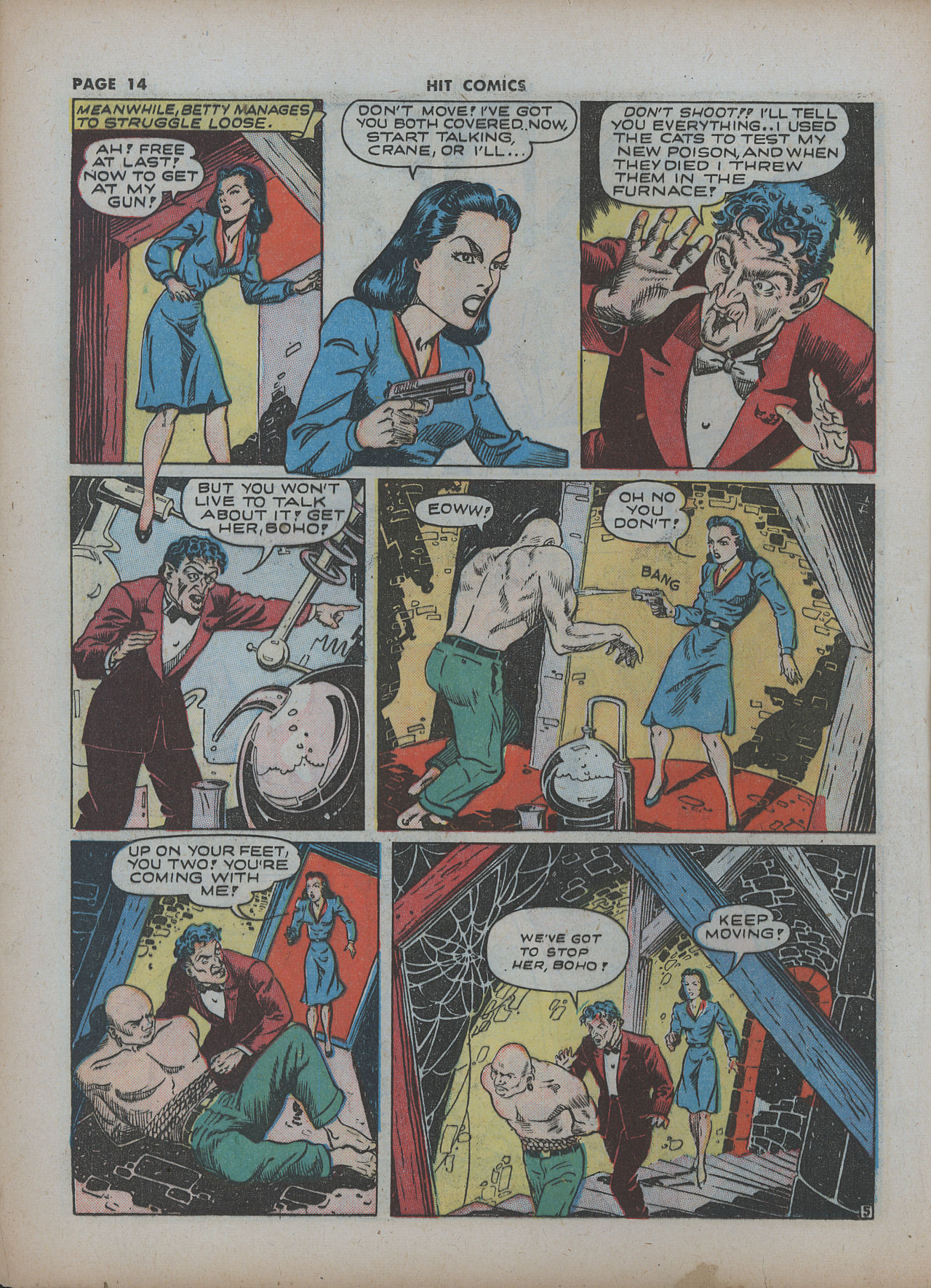 Read online Hit Comics comic -  Issue #22 - 16