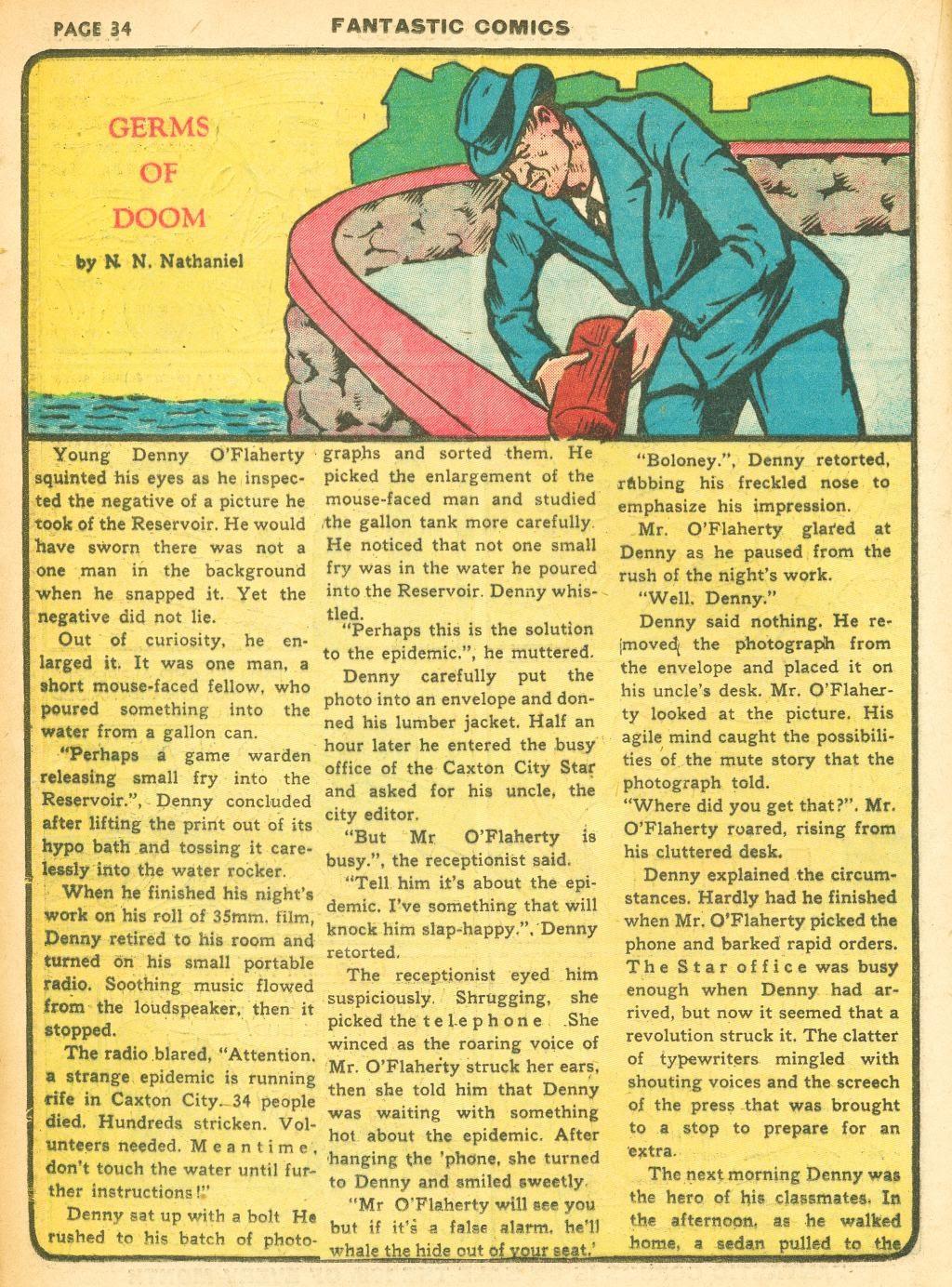 Read online Fantastic Comics comic -  Issue #12 - 36