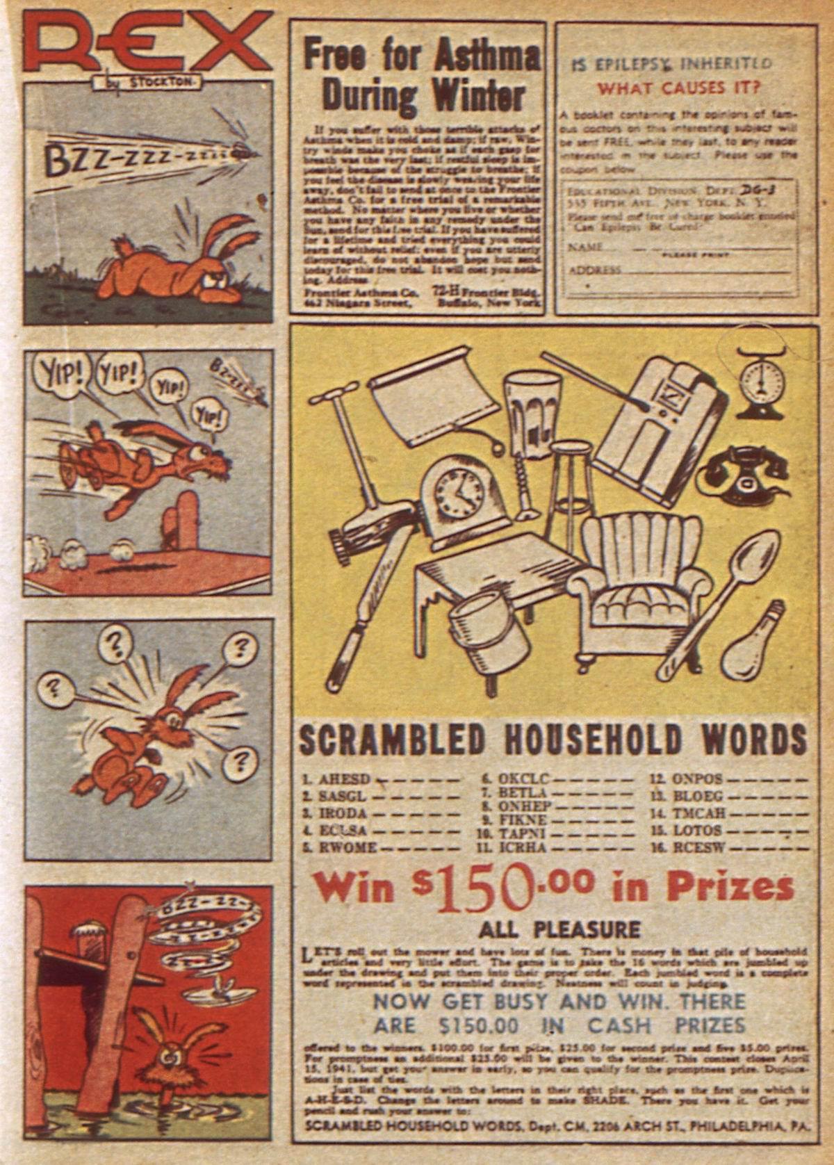 Read online Detective Comics (1937) comic -  Issue #49 - 37