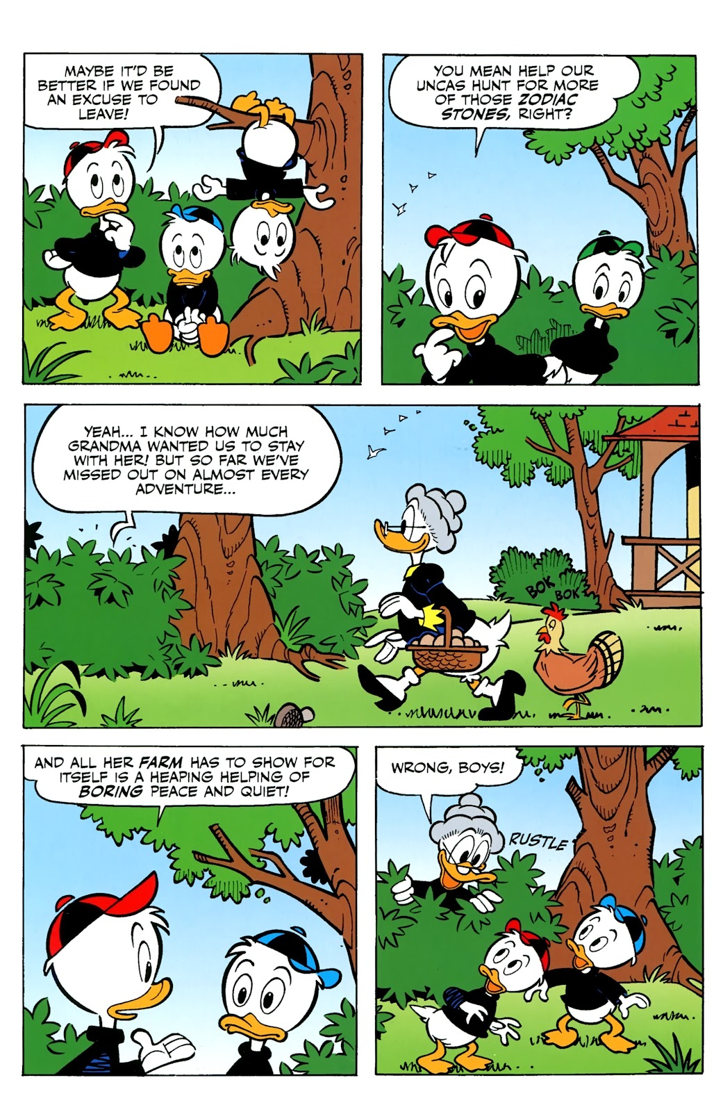 Walt Disney's Comics and Stories issue 730 - Page 17
