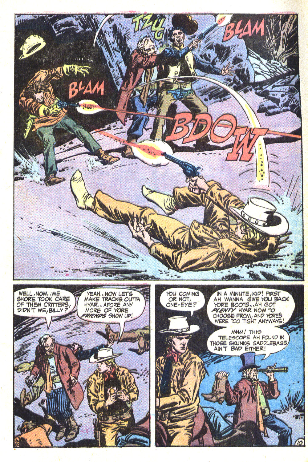 Read online All-Star Western (1970) comic -  Issue #8 - 13