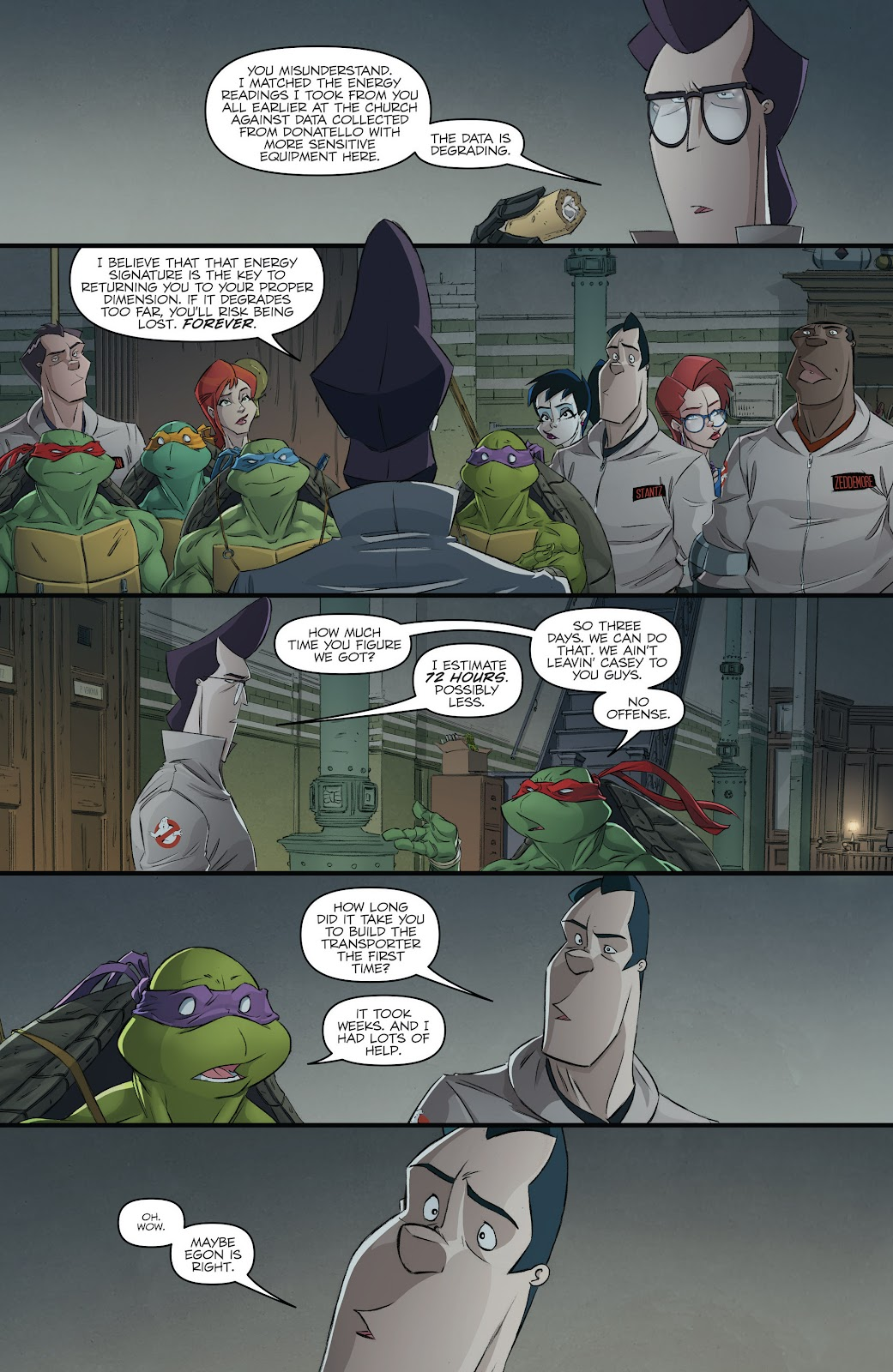 Read online Teenage Mutant Ninja Turtles: The IDW Collection comic -  Issue # TPB 5 (Part 3) - 15
