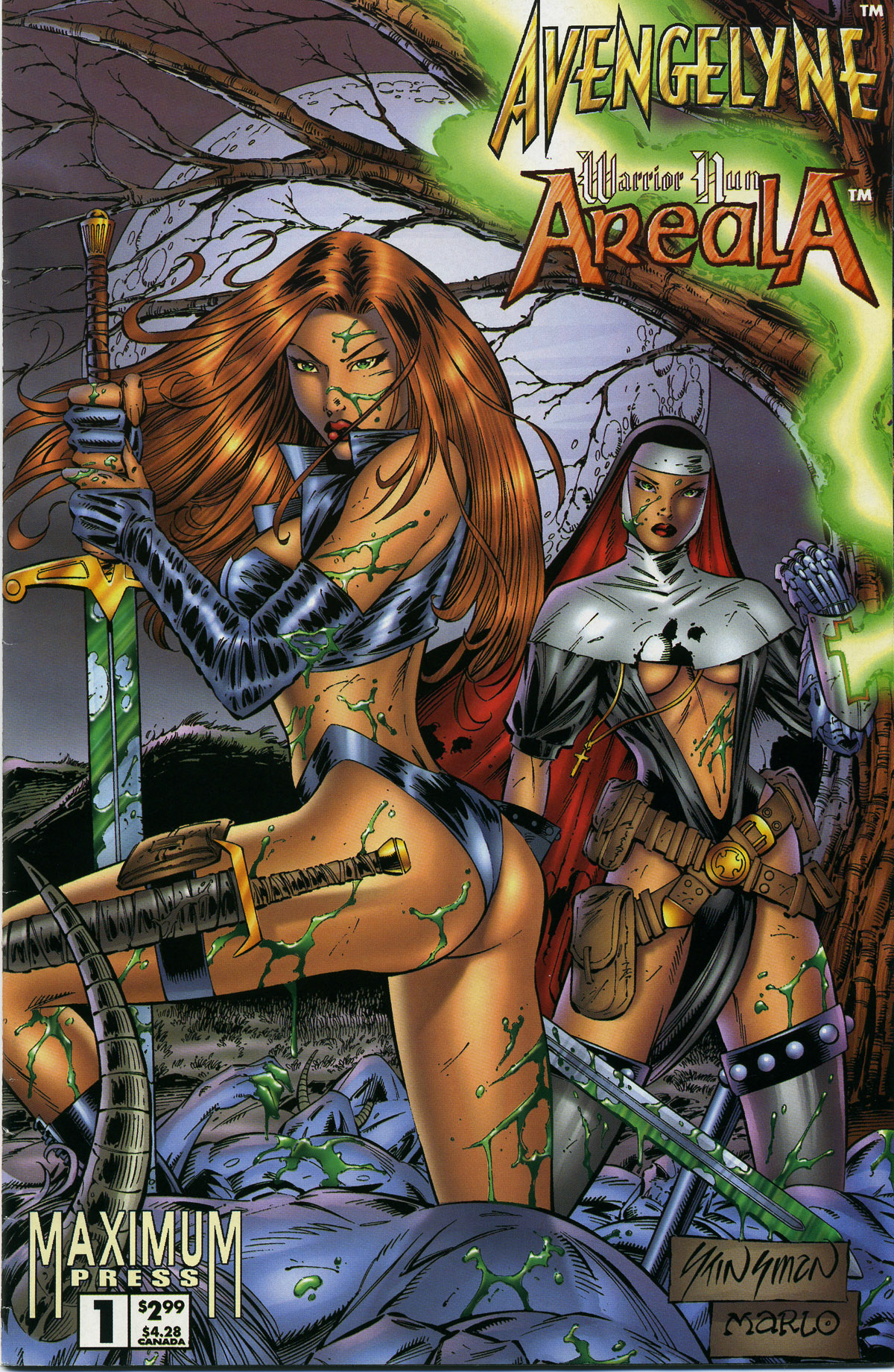 Read online Avengelyne/Warrior Nun Areala comic -  Issue # Full - 2