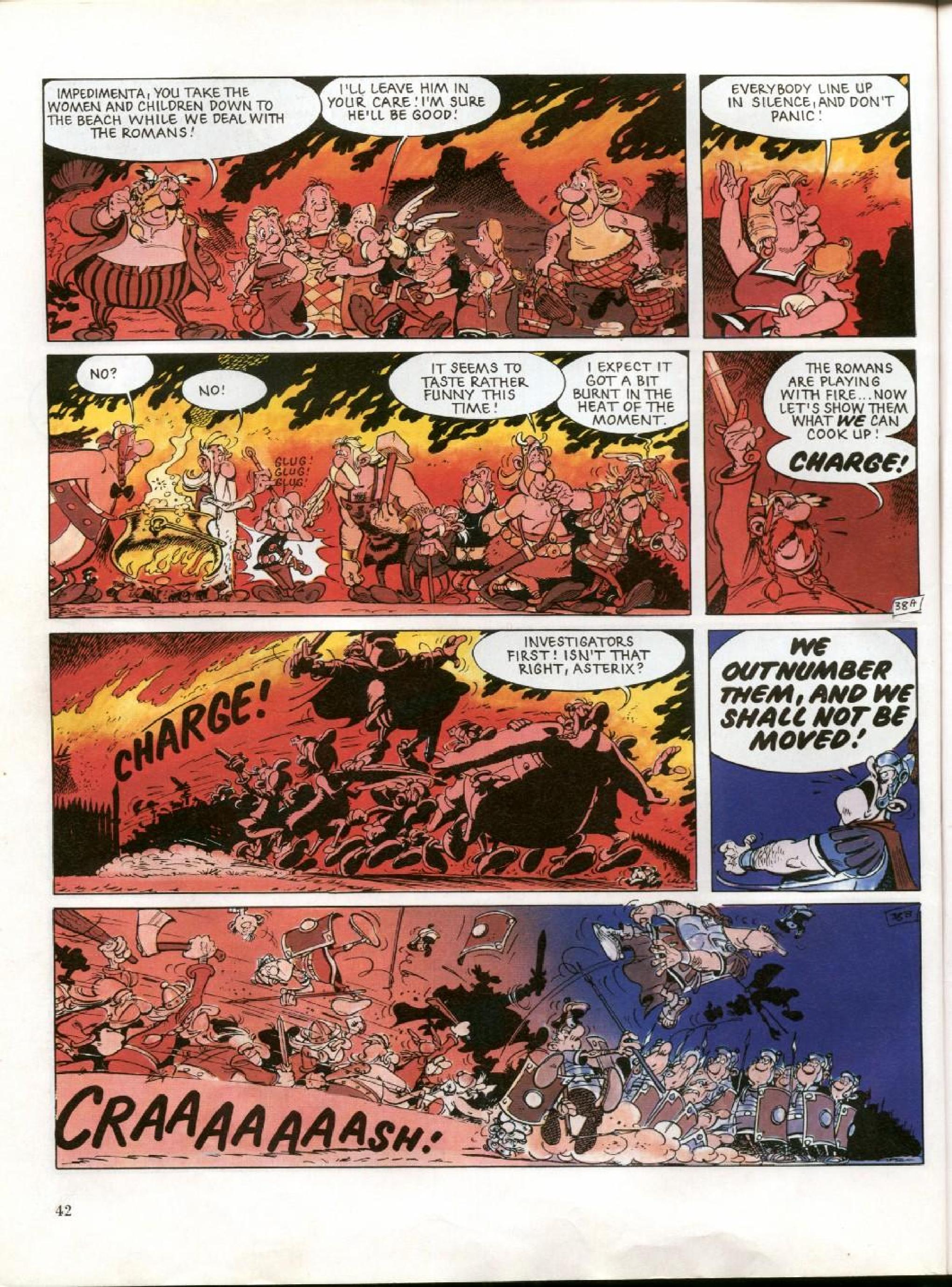 Read online Asterix comic -  Issue #27 - 39