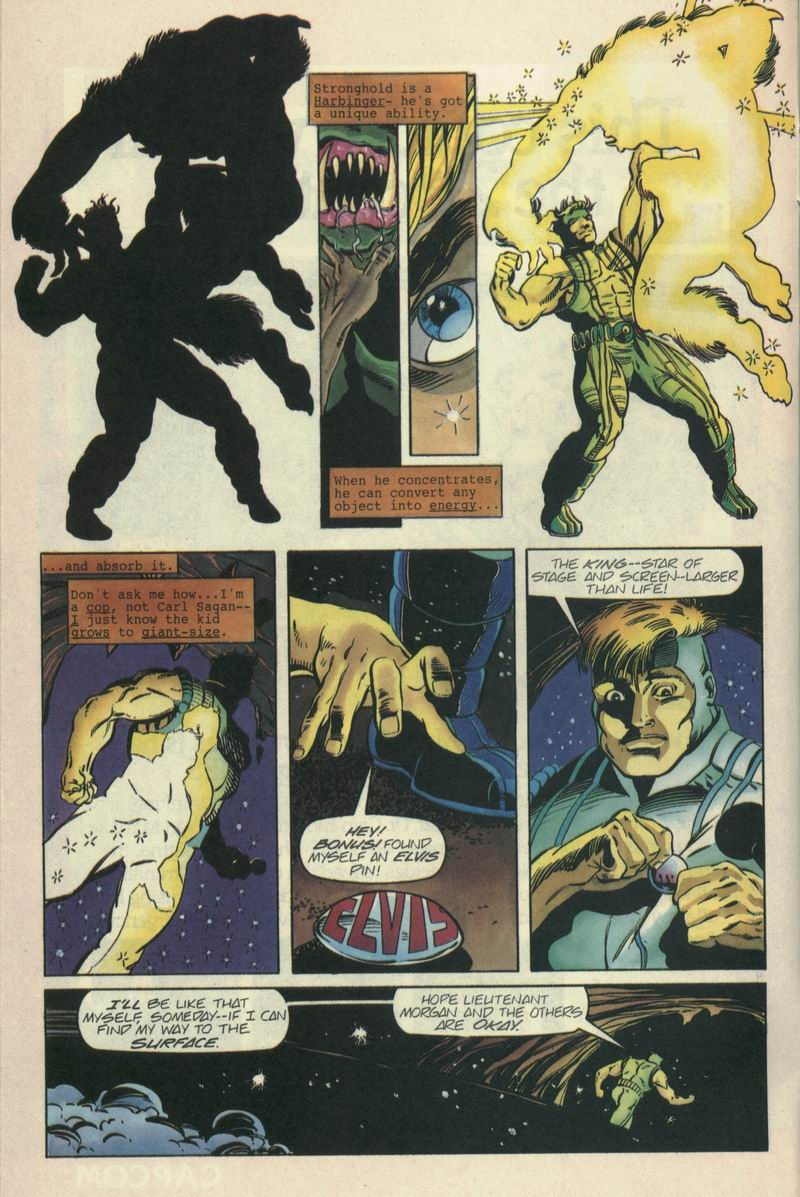 Read online Secret Weapons comic -  Issue #7 - 6